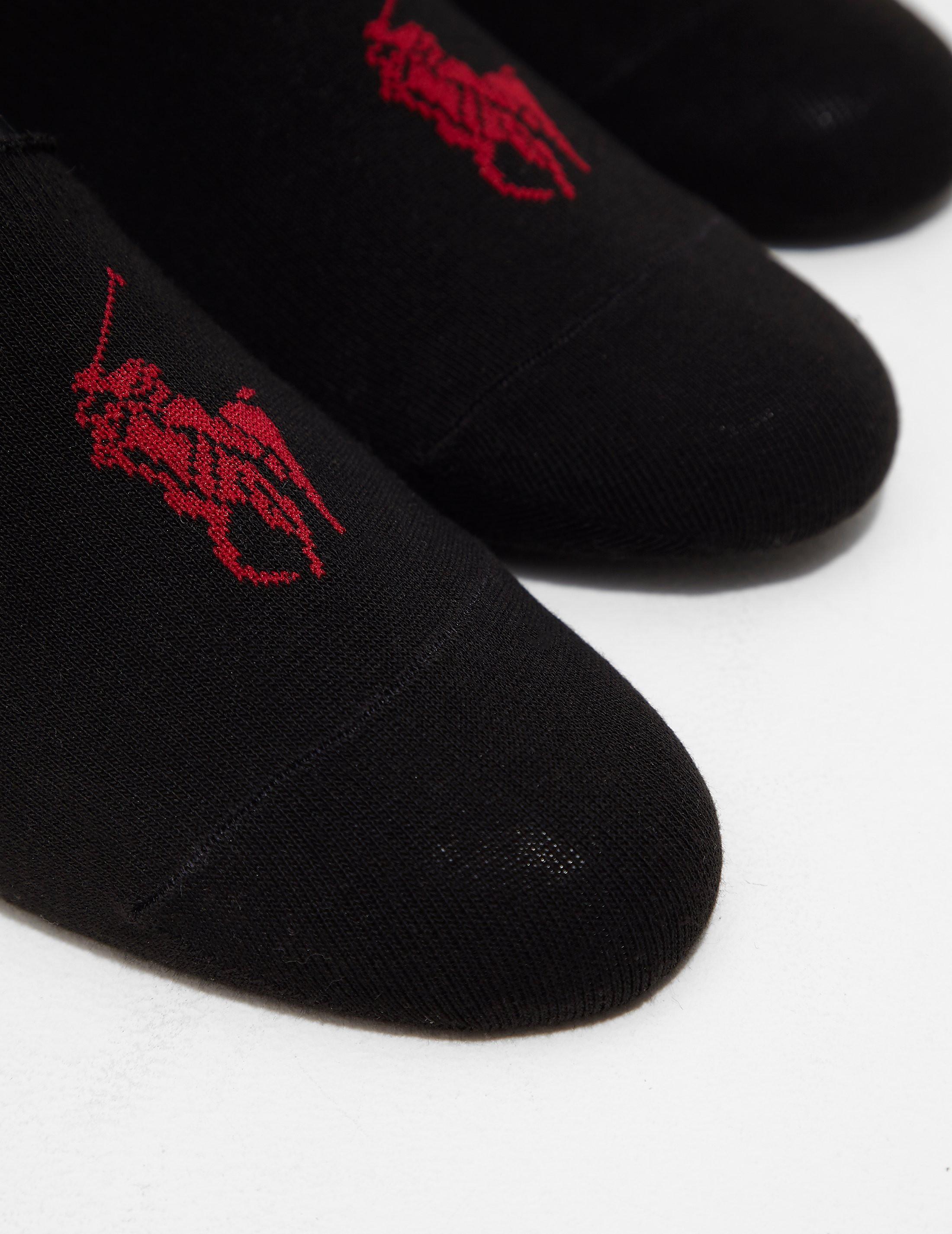 Polo Ralph Lauren 3-Pack Shoe Liner Socks