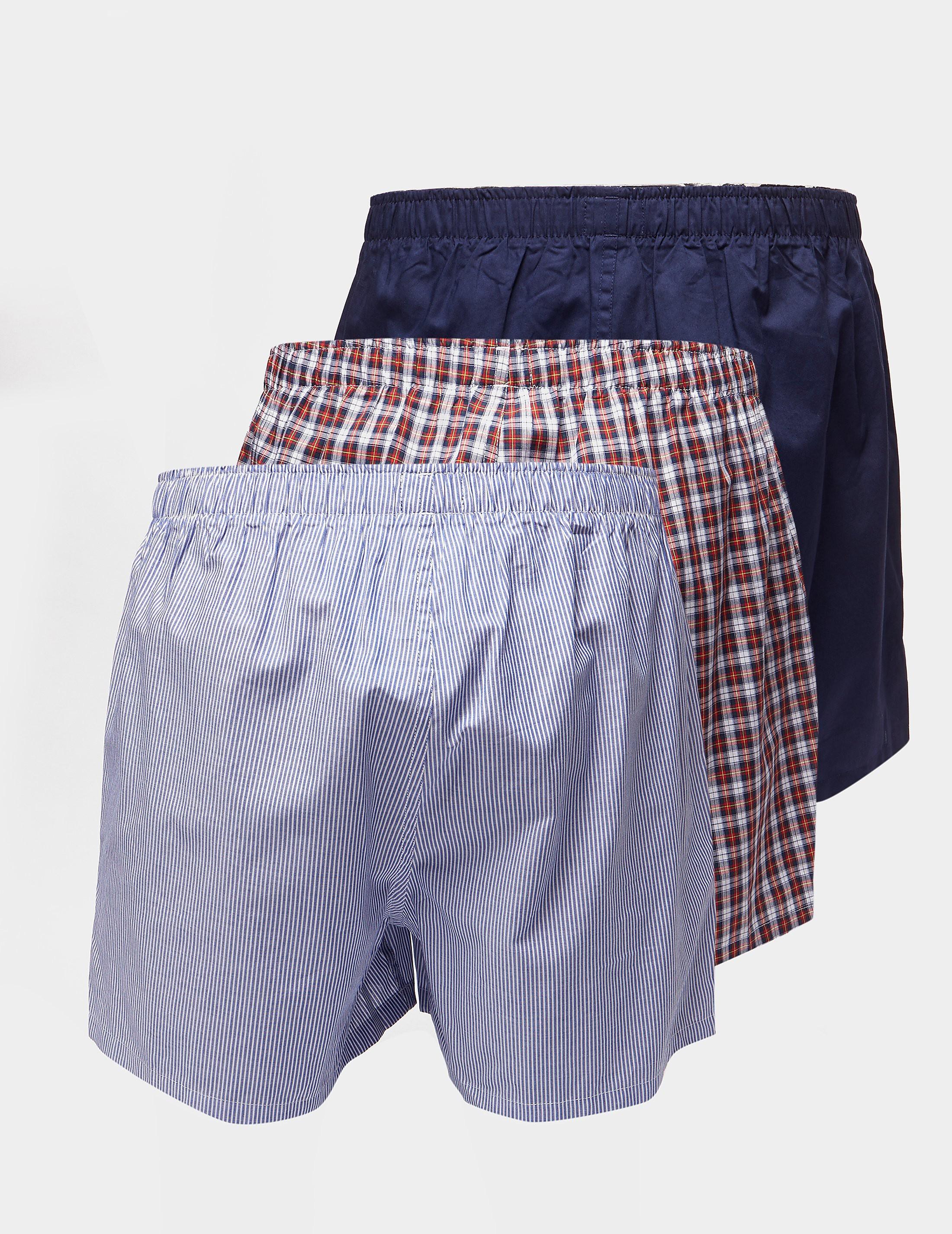 Polo Ralph Lauren 3-Pack Woven Boxer Shorts