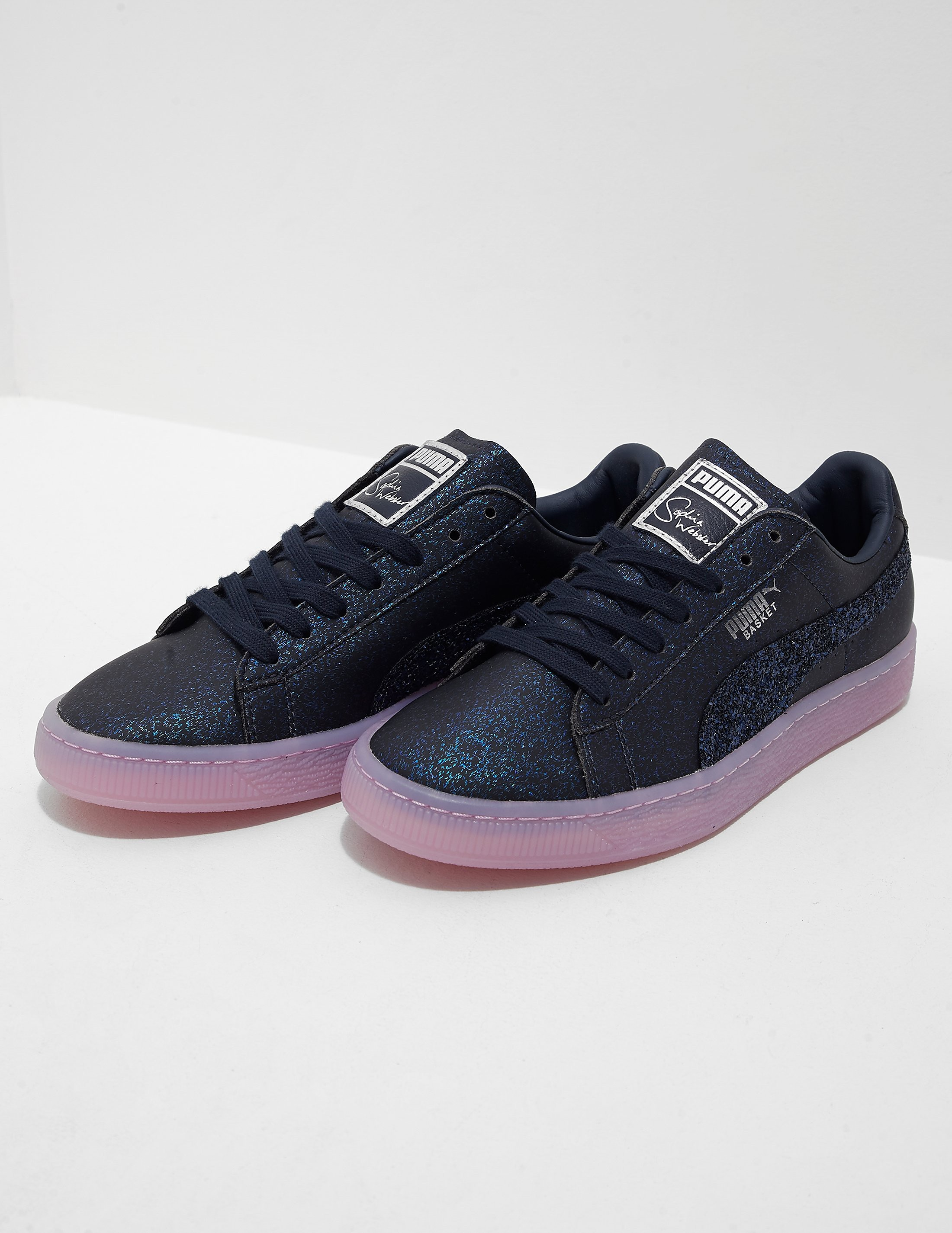 PUMA x Sophia Webster Basket Glitter Princess Trainers