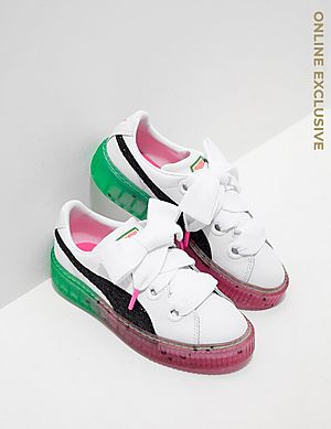 PUMA x Sophia Webster Platform Candy Princess Trainers ... 1180643bc