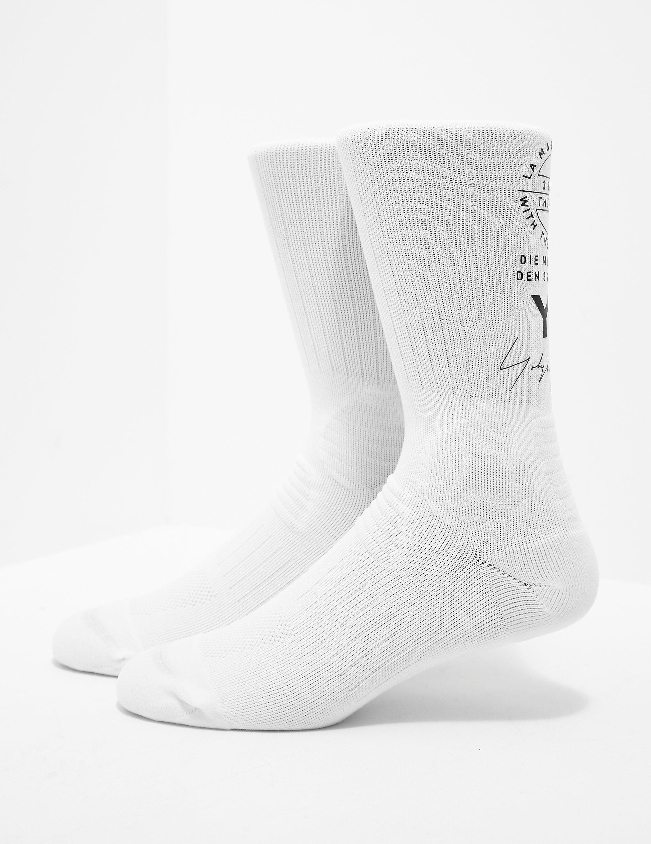 Y-3 Stag Logo Socks