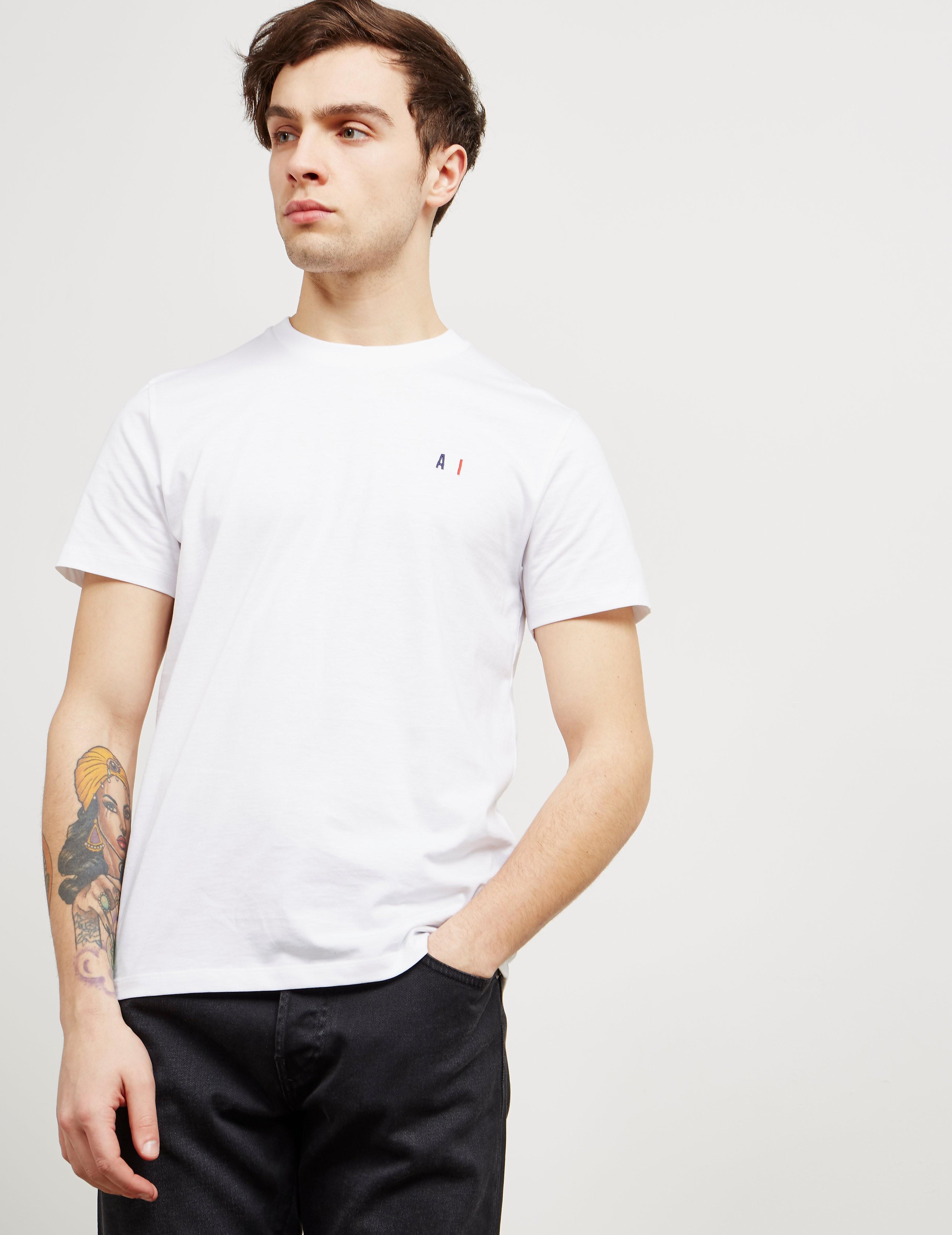 AMI Paris Small Logo Short Sleeve T-Shirt