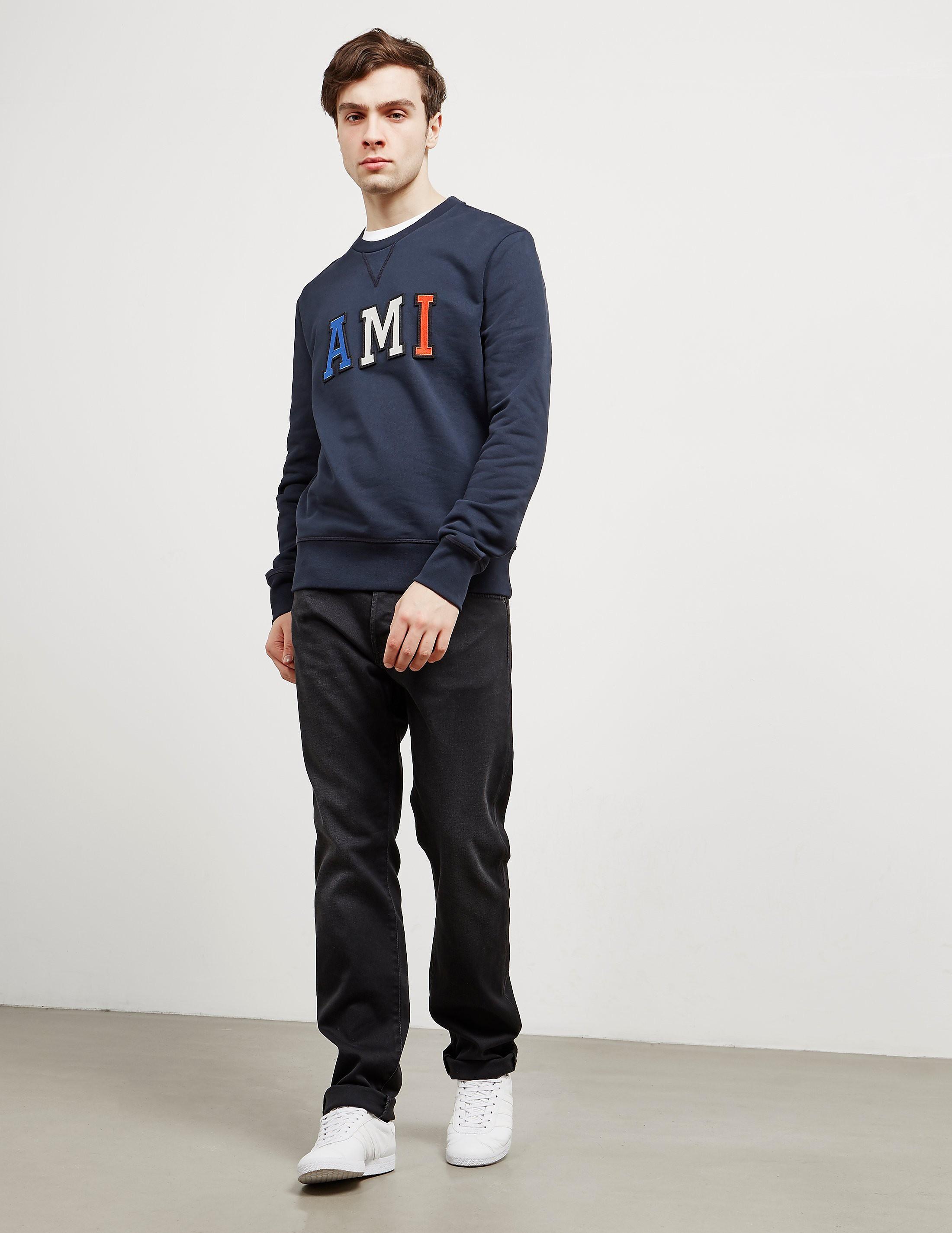 AMI Paris Patch Sweatshirt