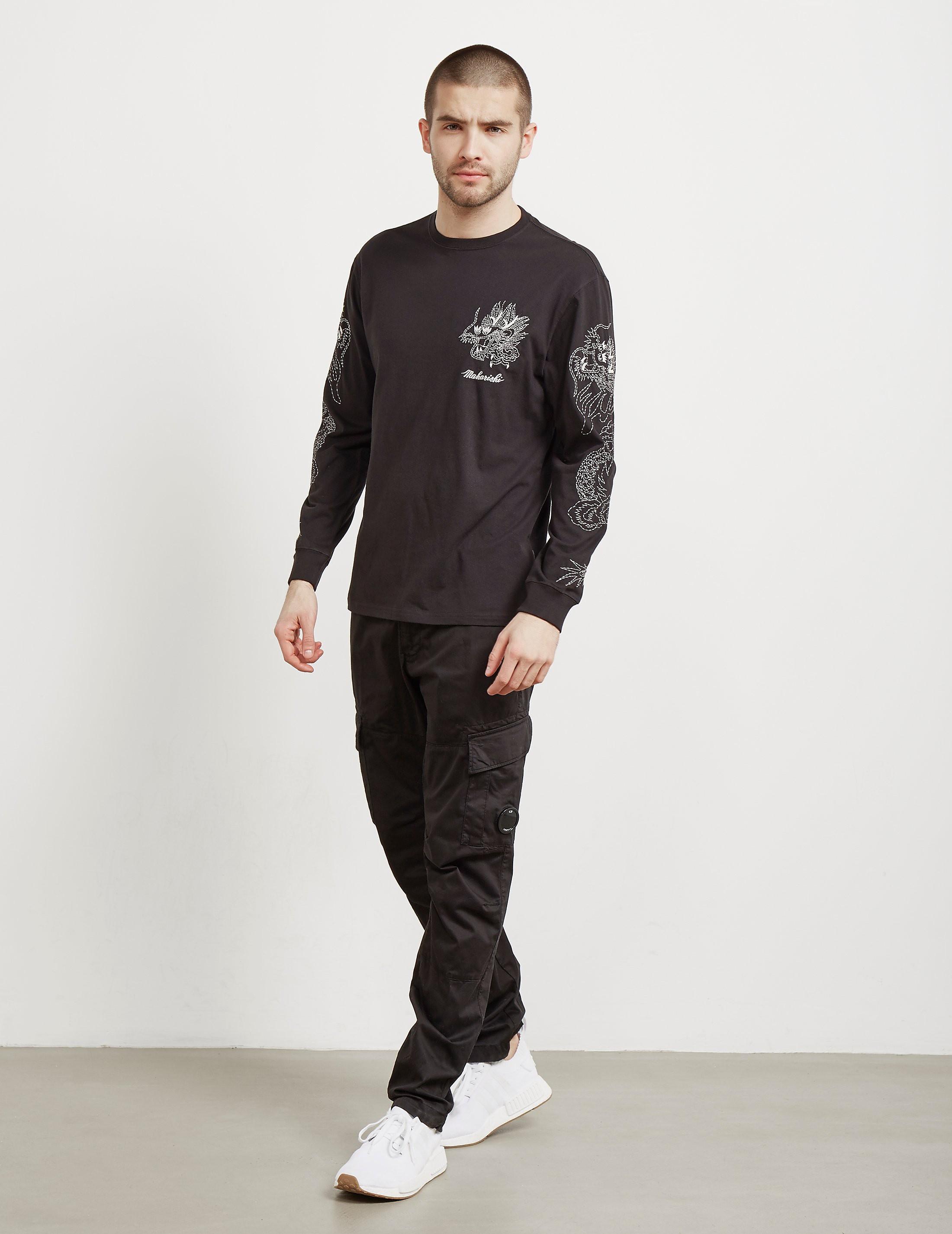 Maharishi Dragon Long Sleeve T-Shirt