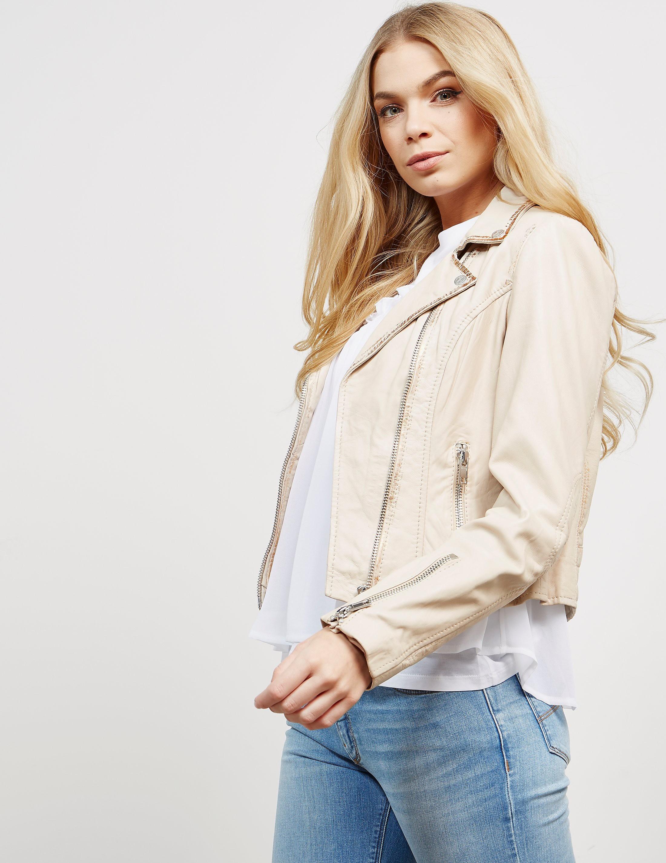 Rino & Pelle Zip Leather Jacket