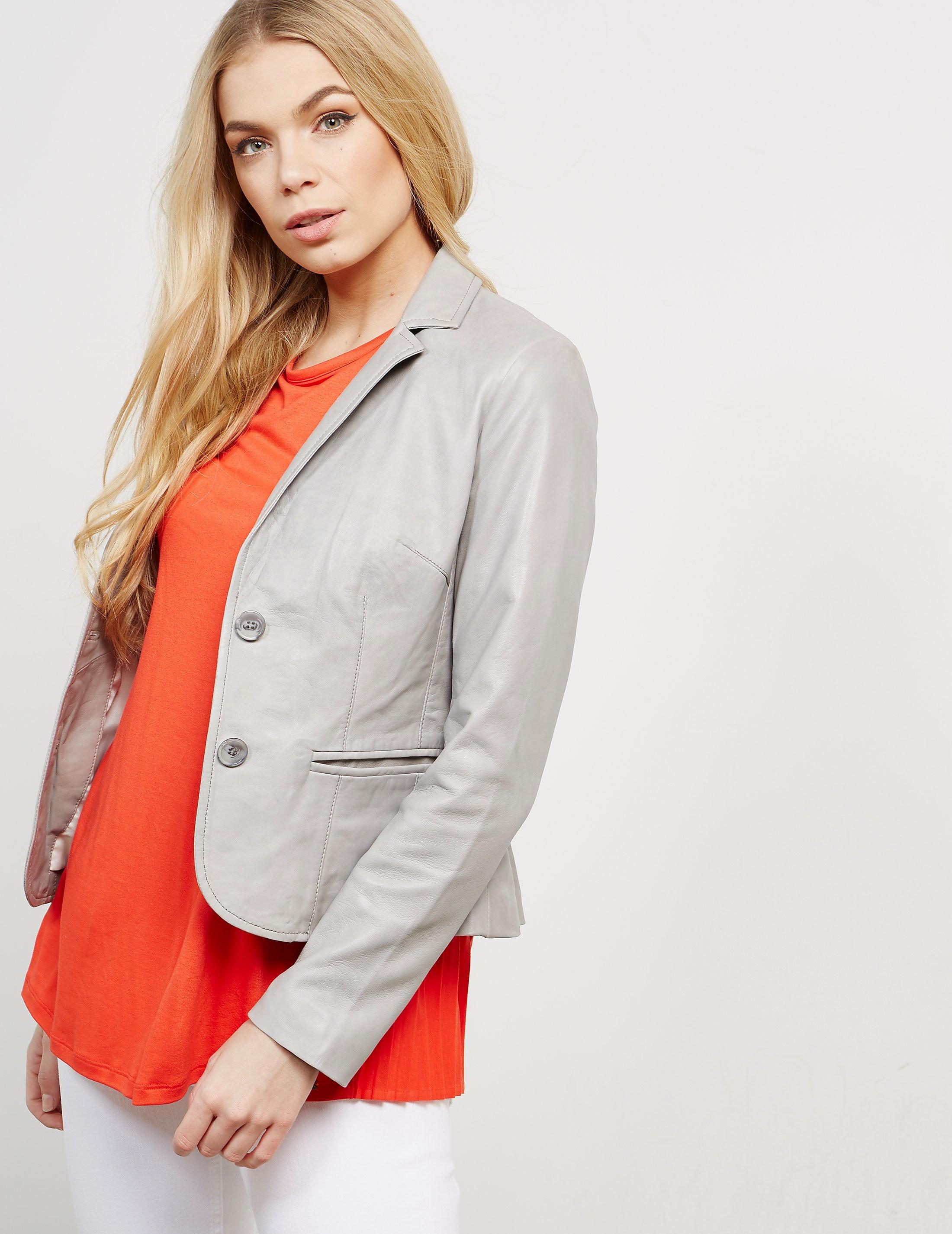 Rino & Pelle Soft Leather Blazer Jacket