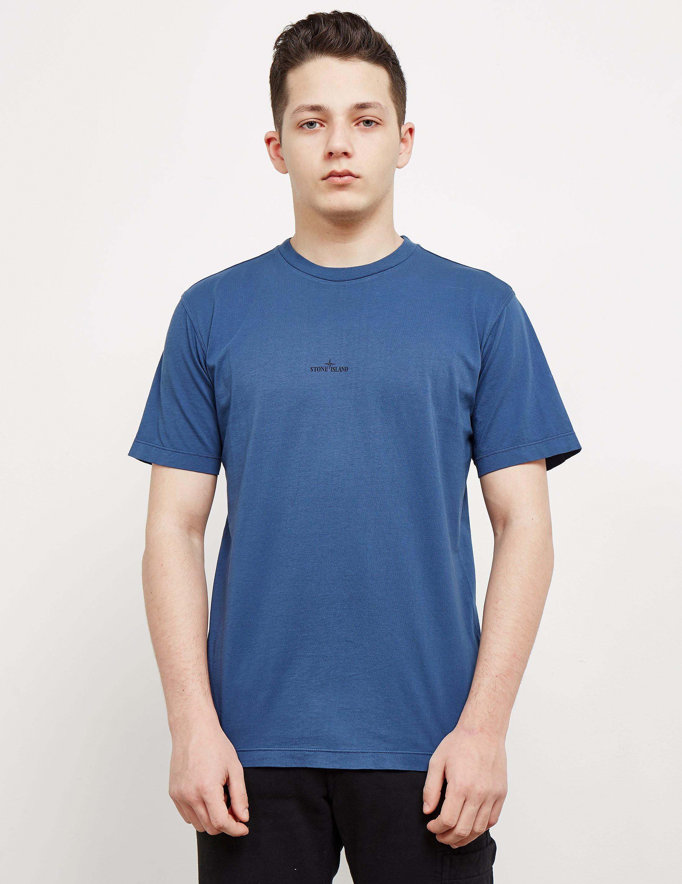 Stone Island Back Pin Short Sleeve T-Shirt