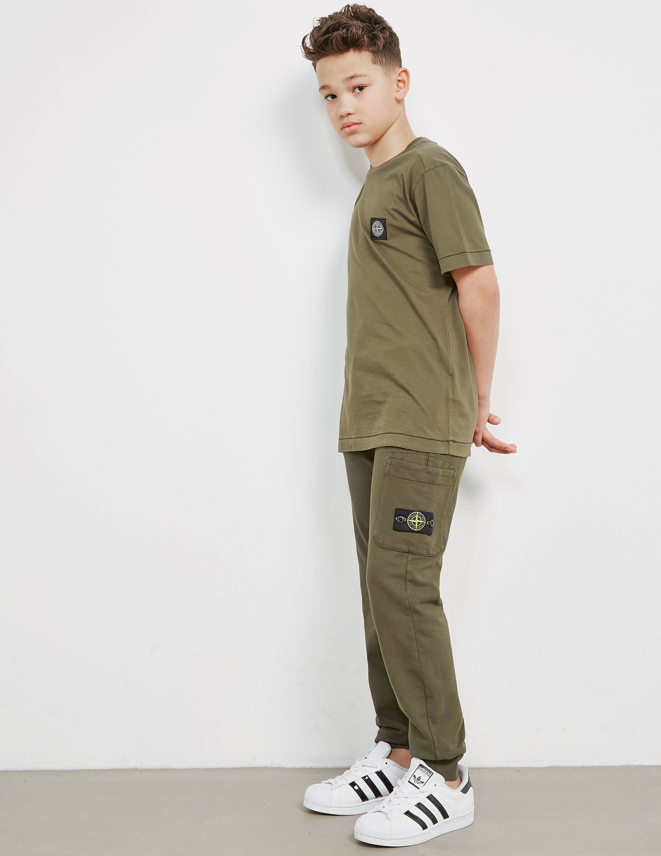 Stone Island Basic Patch Short Sleeve T-Shirt