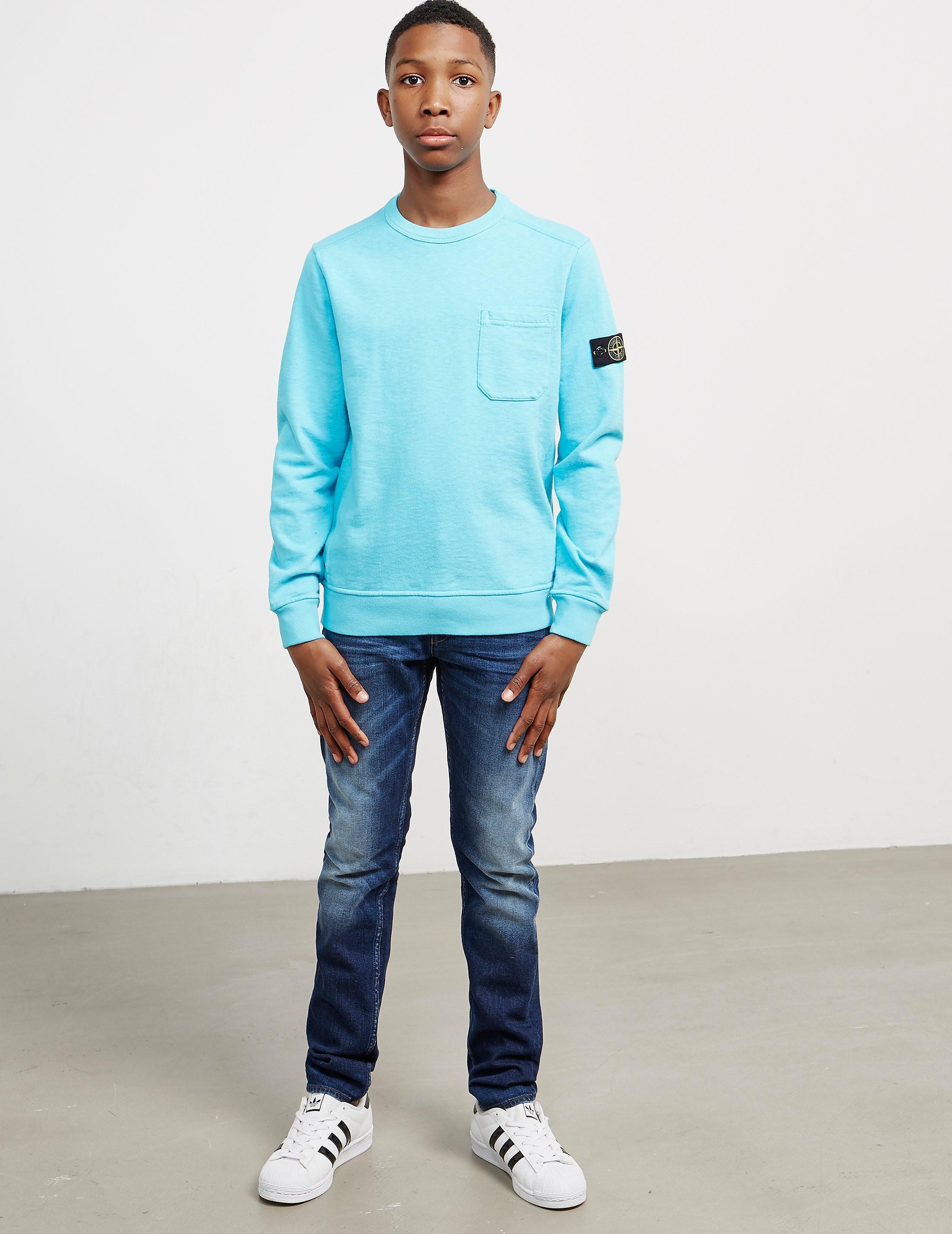 Stone Island Kids Pocket Sweatshirt