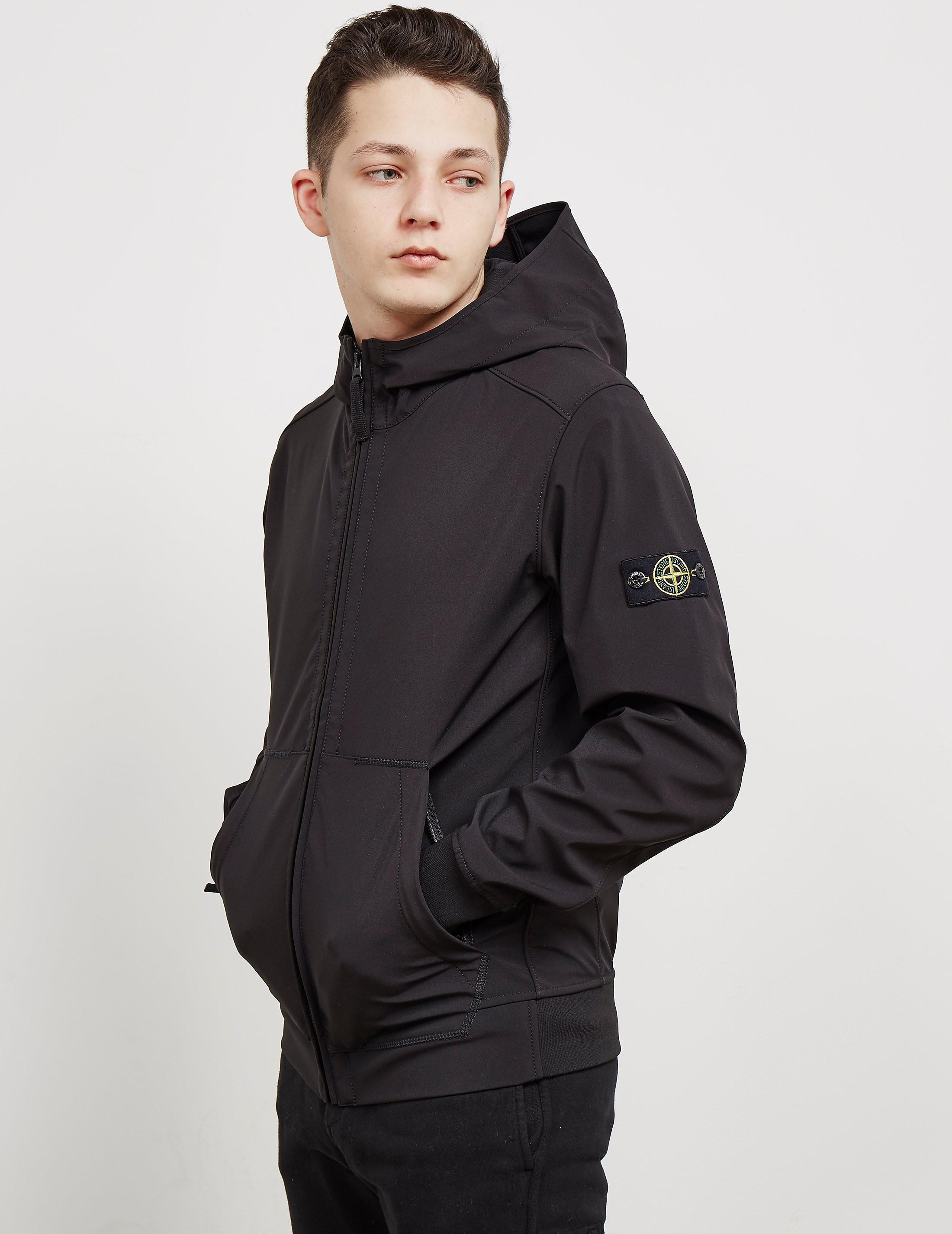 Stone Island Softshell Hooded Padded Jacket