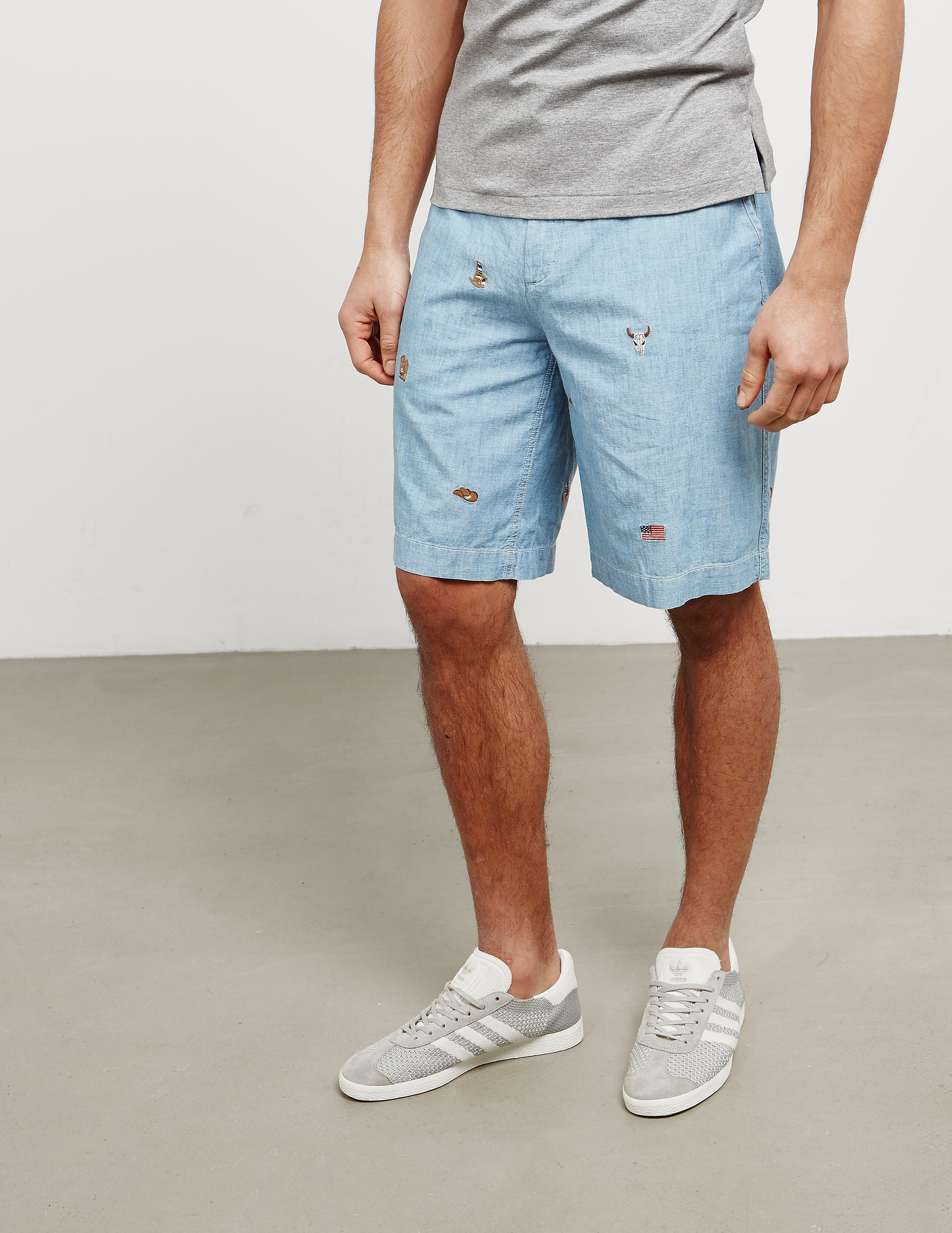 Polo Ralph Lauren Embroidered Shorts