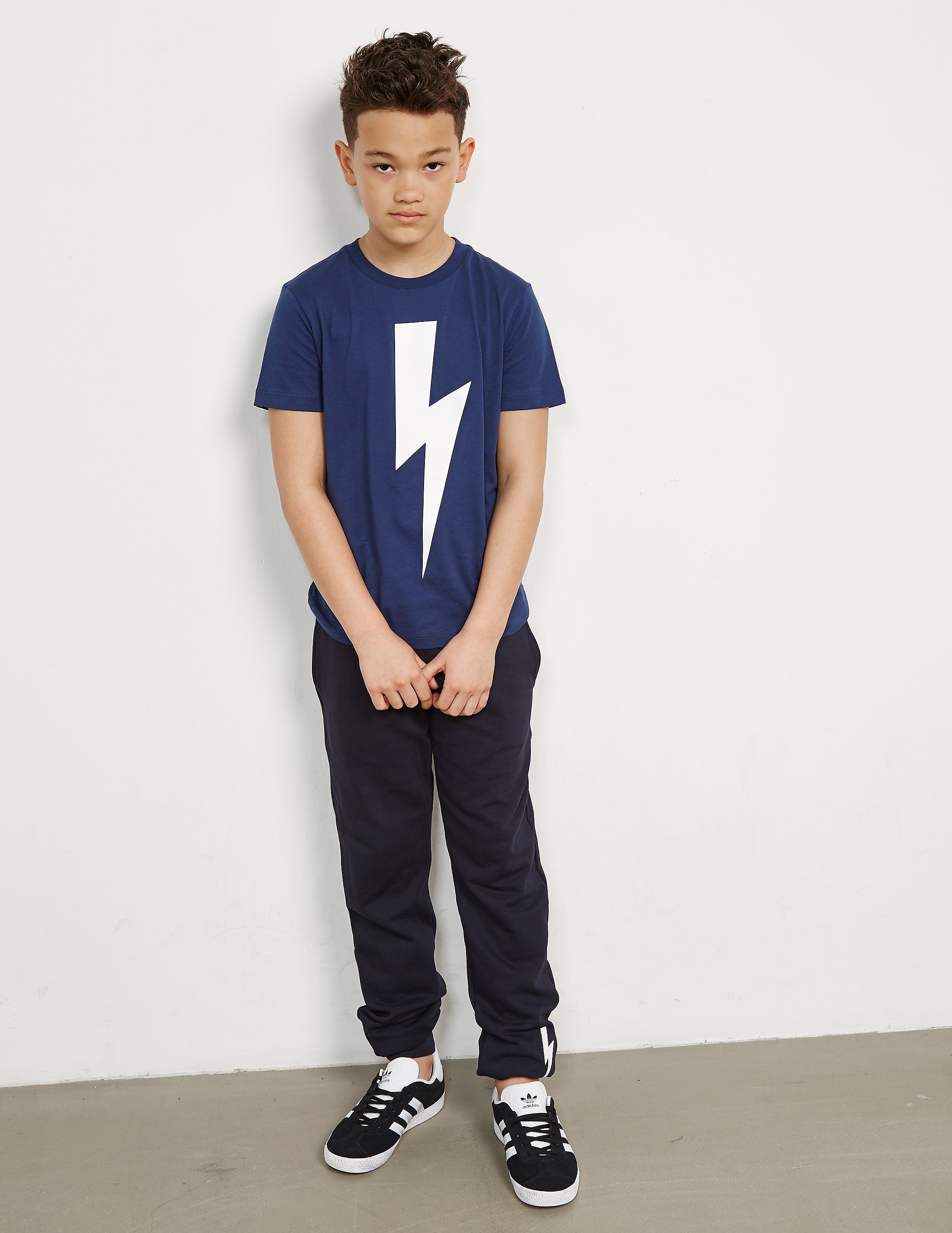 Neil Barrett Large Bolt Short Sleeve T-Shirt