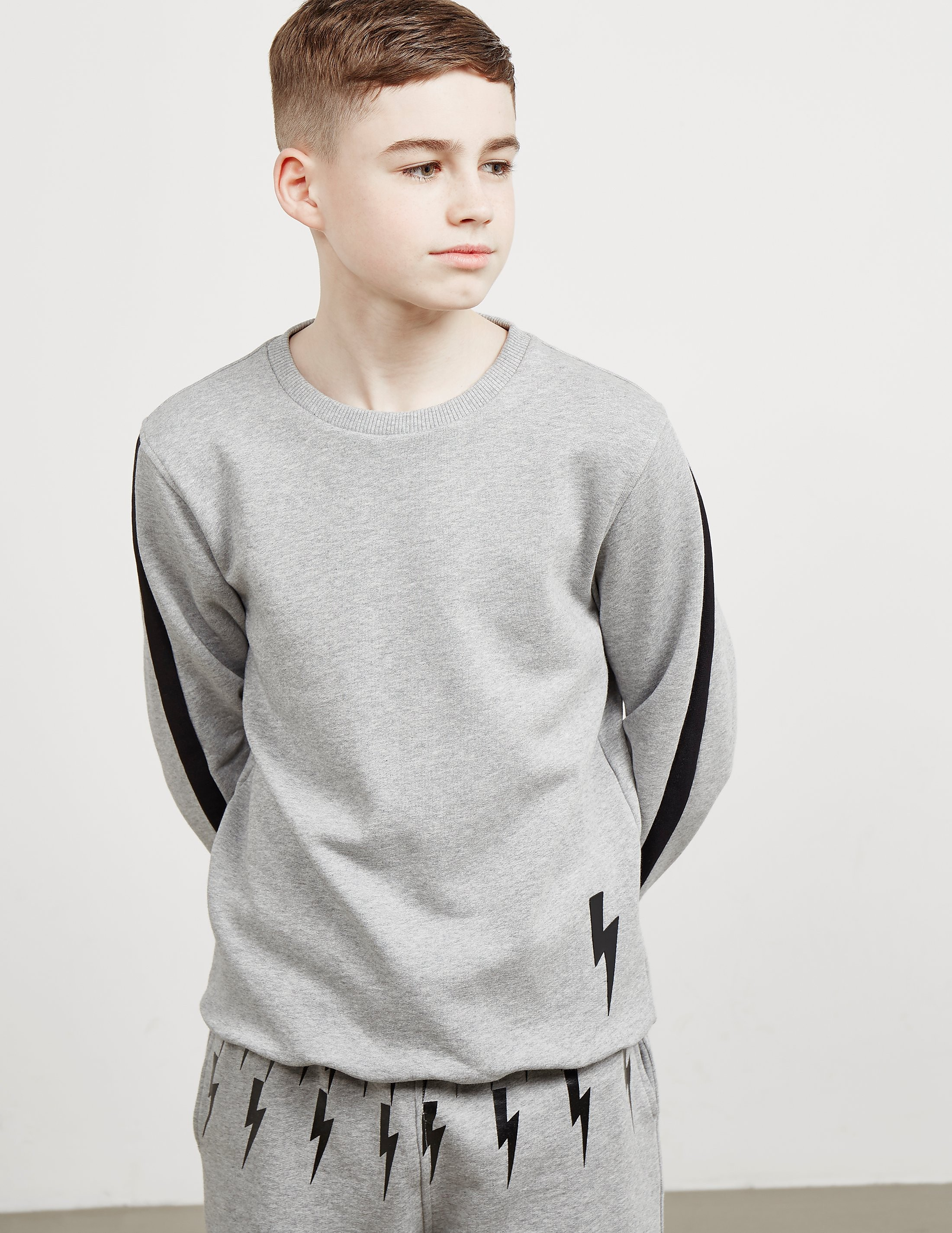 Neil Barrett Sleeve Stripe Sweatshirt