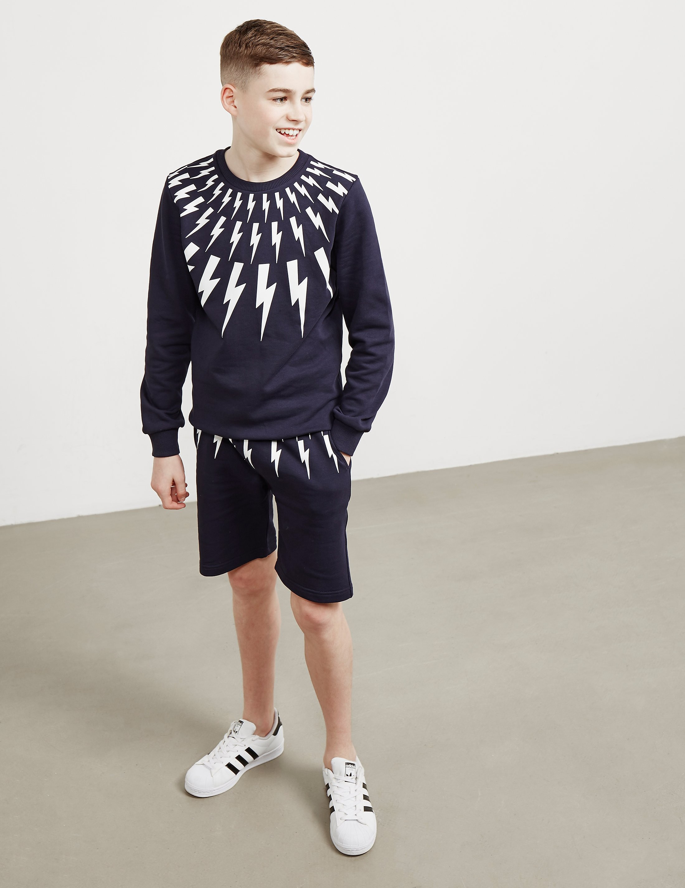 Neil Barrett Bolt Neck Sweatshirt