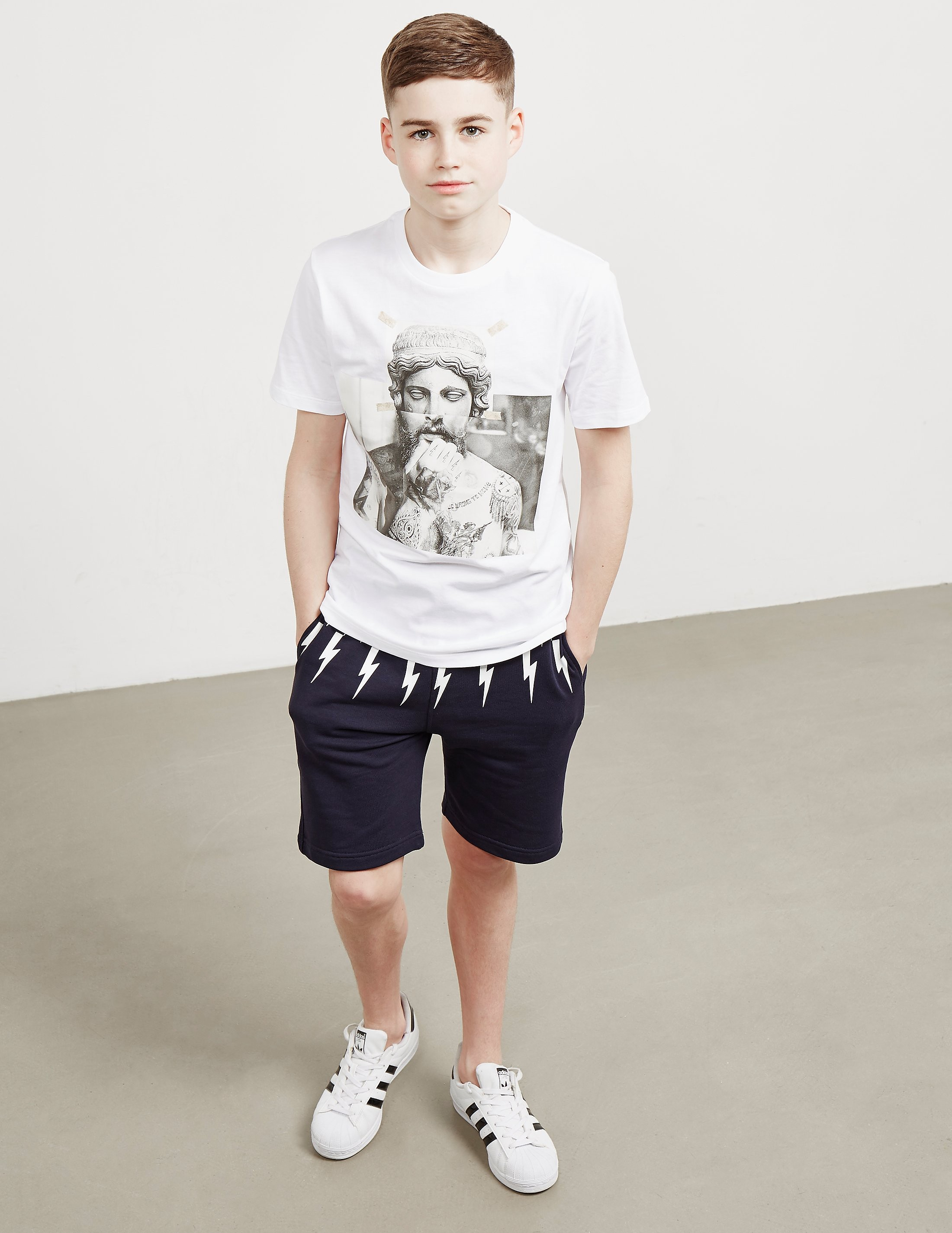 Neil Barrett Statue Short Sleeve T-Shirt