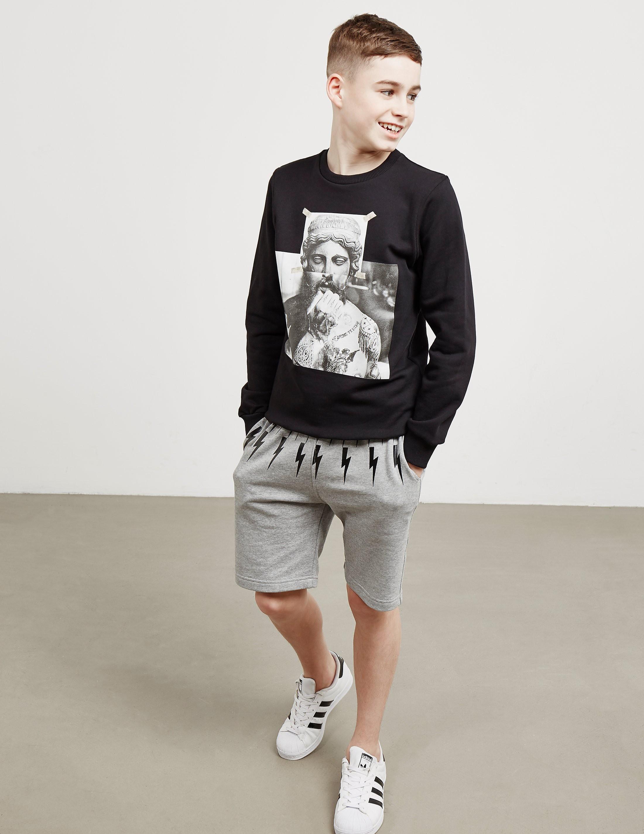 Neil Barrett Statue Sweatshirt