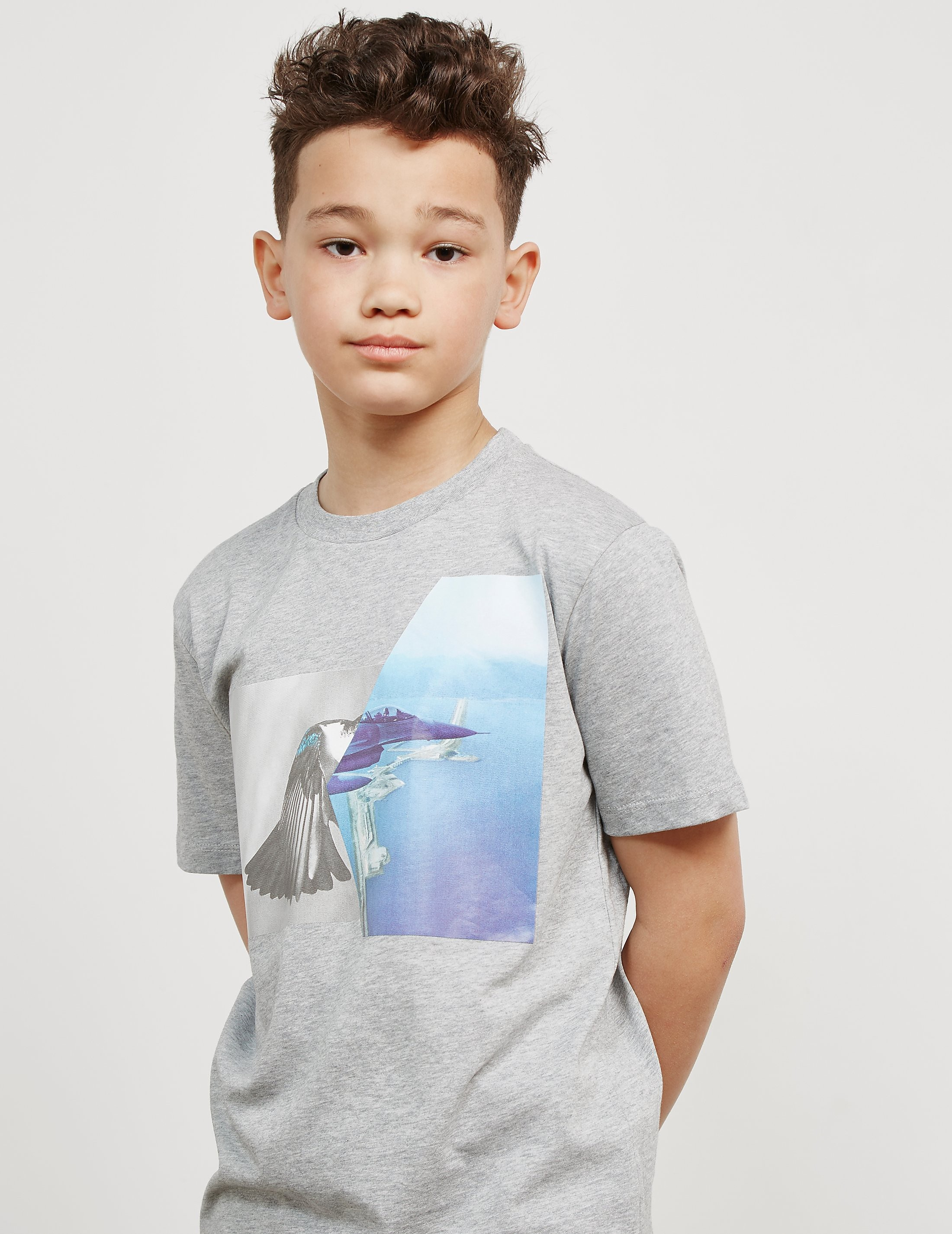 Neil Barrett Plane Short Sleeve T-Shirt