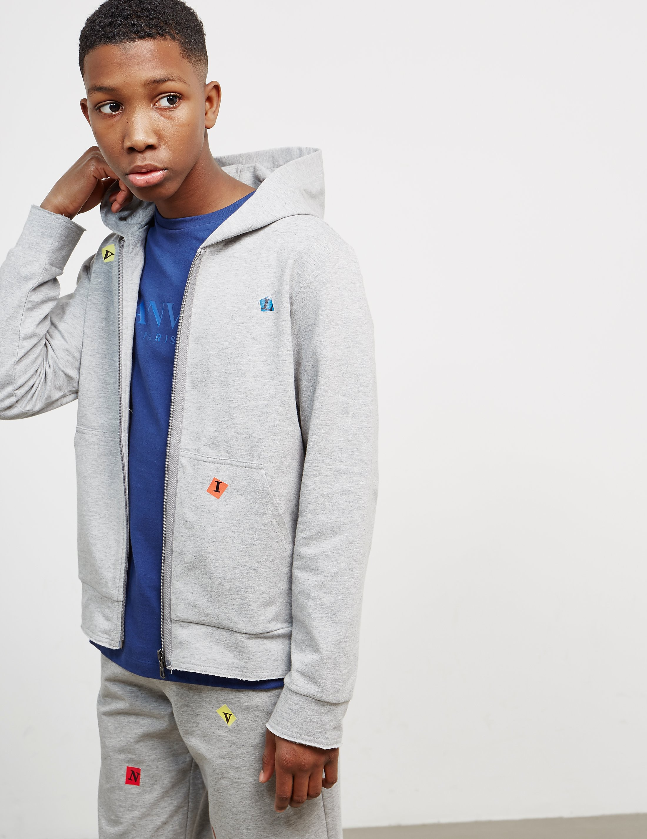 Lanvin Kids Zip Through Hoodie