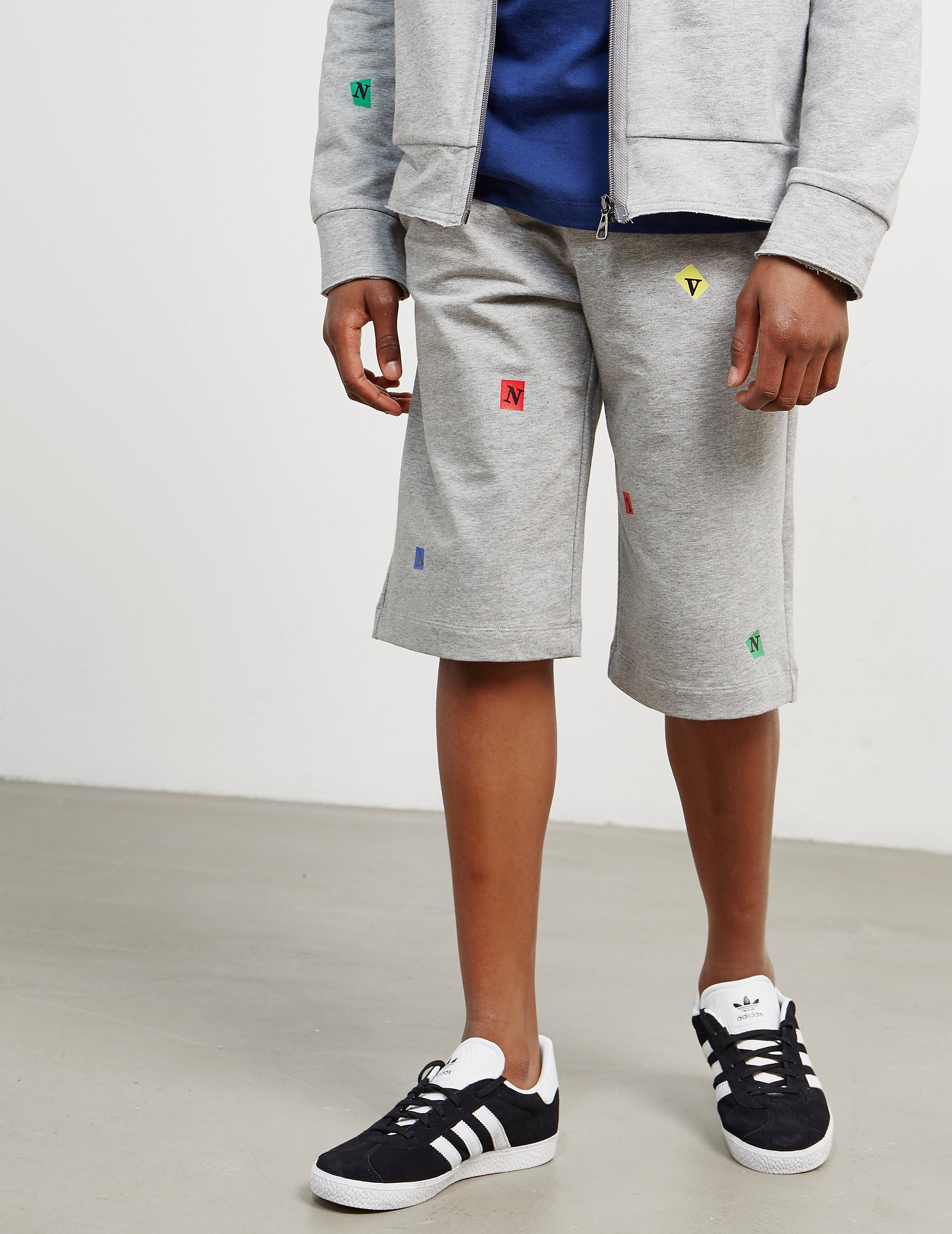 Lanvin Printed Logo Shorts