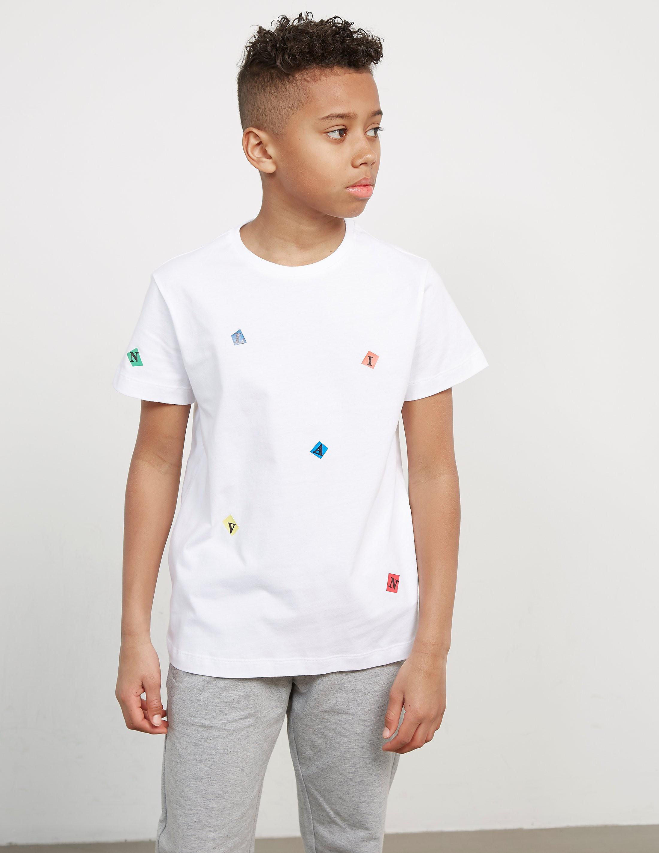 Lanvin Printed Short Sleeve T-Shirt