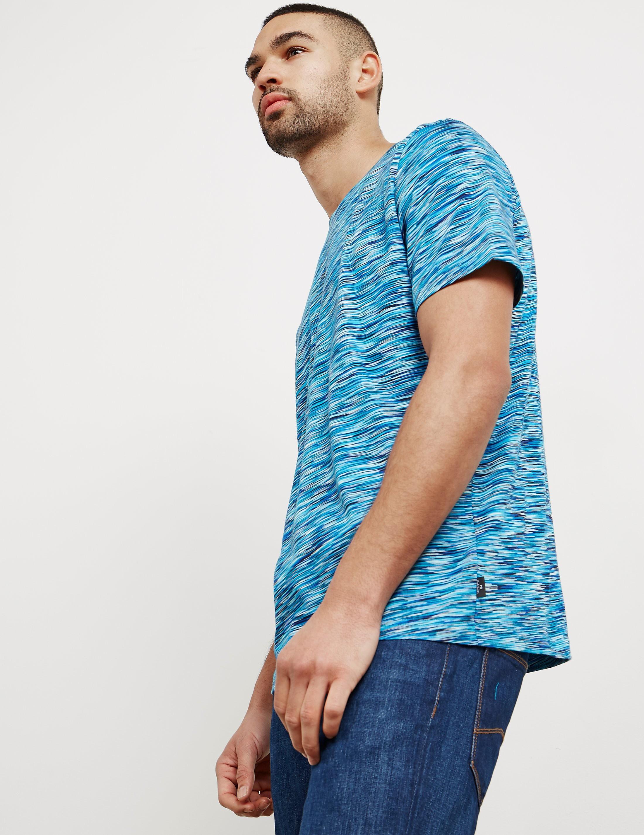 PS Paul Smith Dye Stripe Short Sleeve T-Shirt