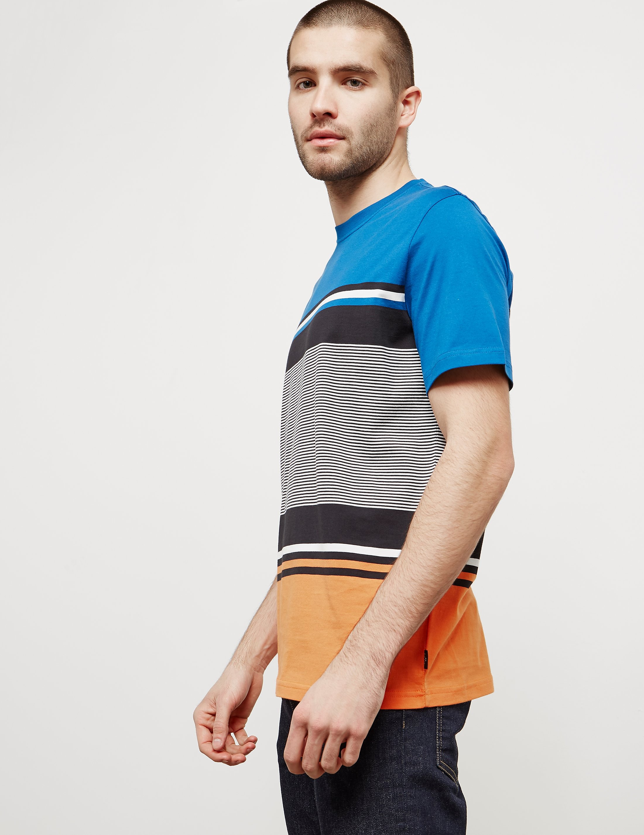 Paul Smith Placement Stripe Short Sleeve T-Shirt