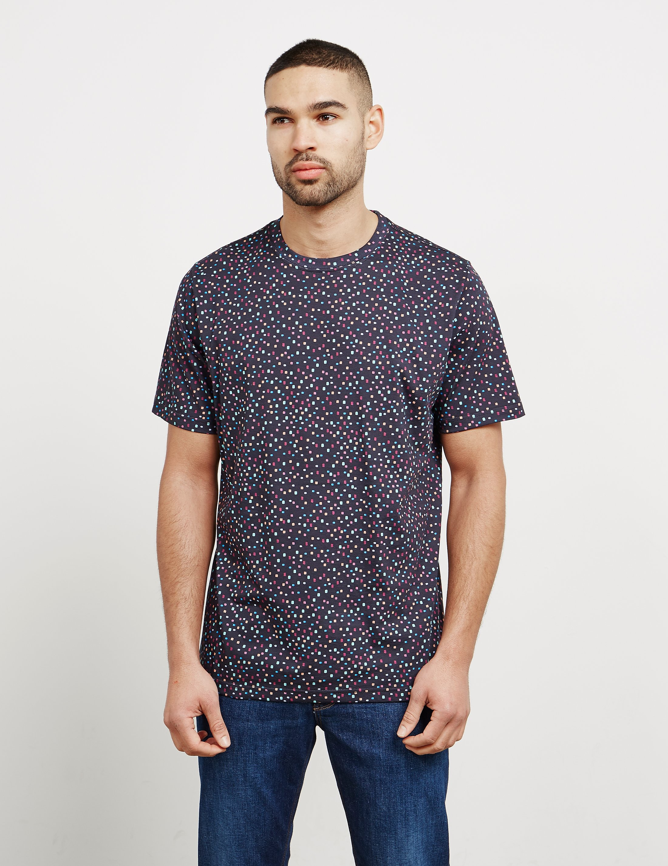 PS Paul Smith All Over Square Print Short Sleeve T-Shirt