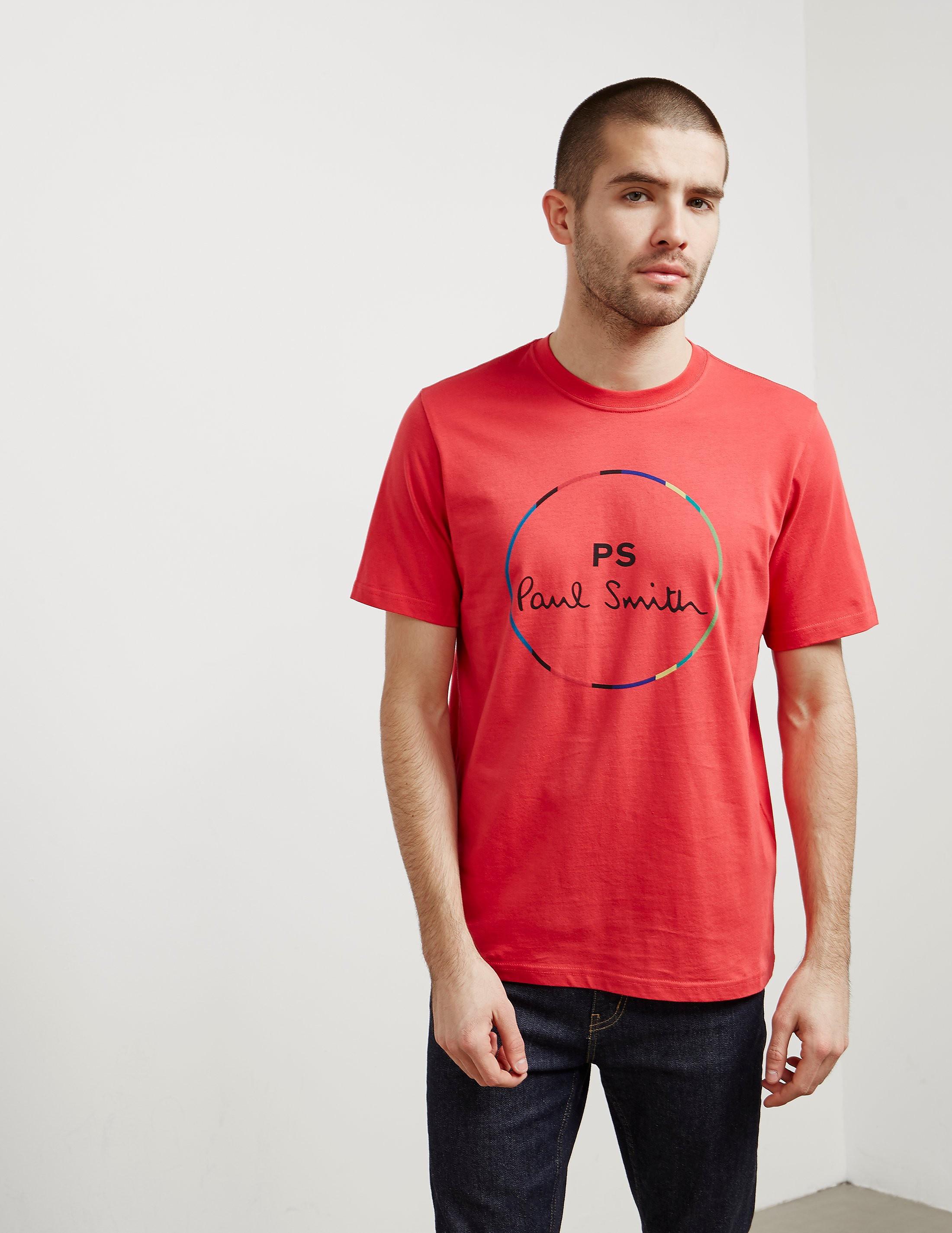 PS Paul Smith Circle Short Sleeve T-Shirt