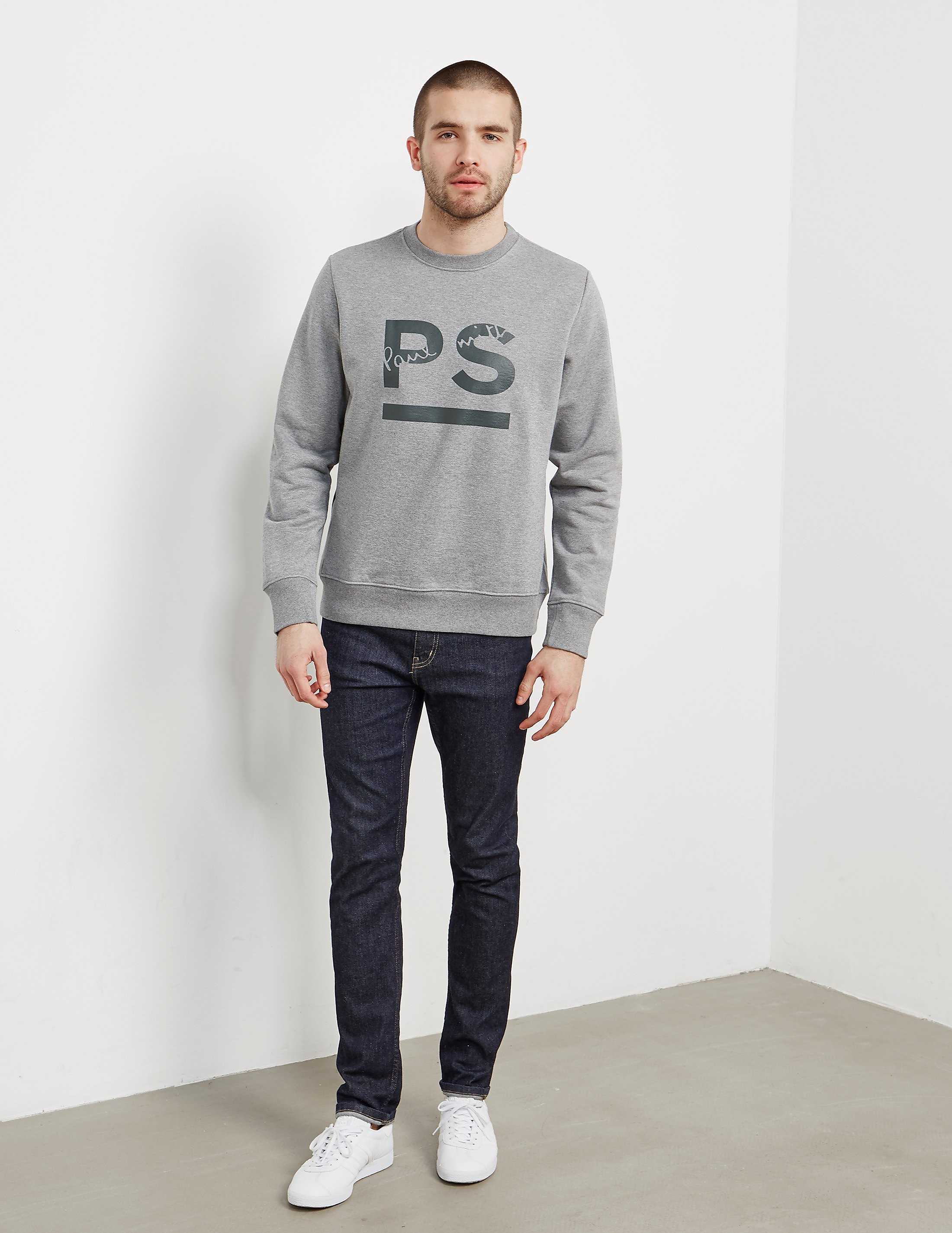 PS Paul Smith Logo Crew Sweatshirt