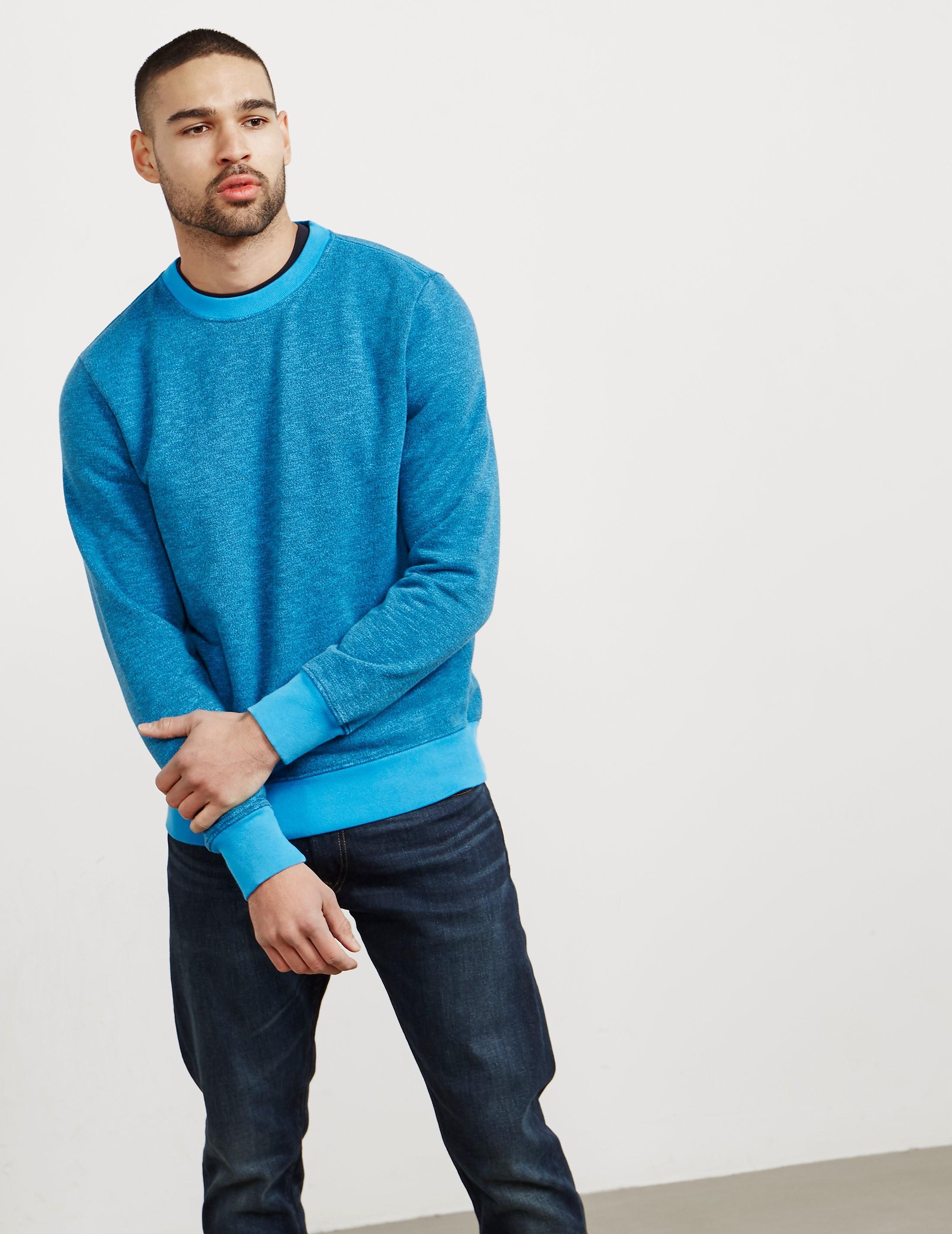 Paul Smith Garment Dyed Crew Sweatshirt