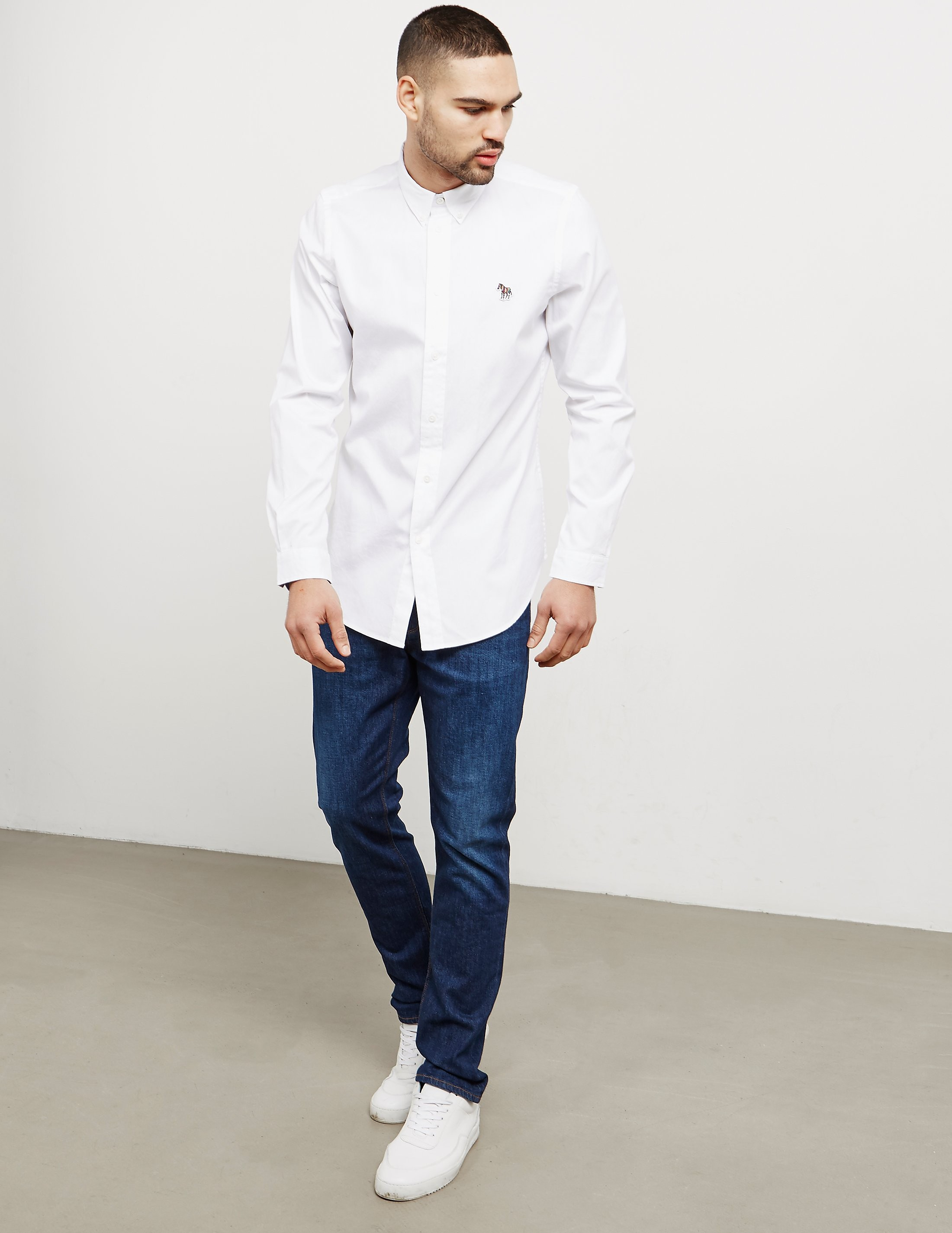 PS Paul Smith Zebra Oxford Long Sleeve Shirt