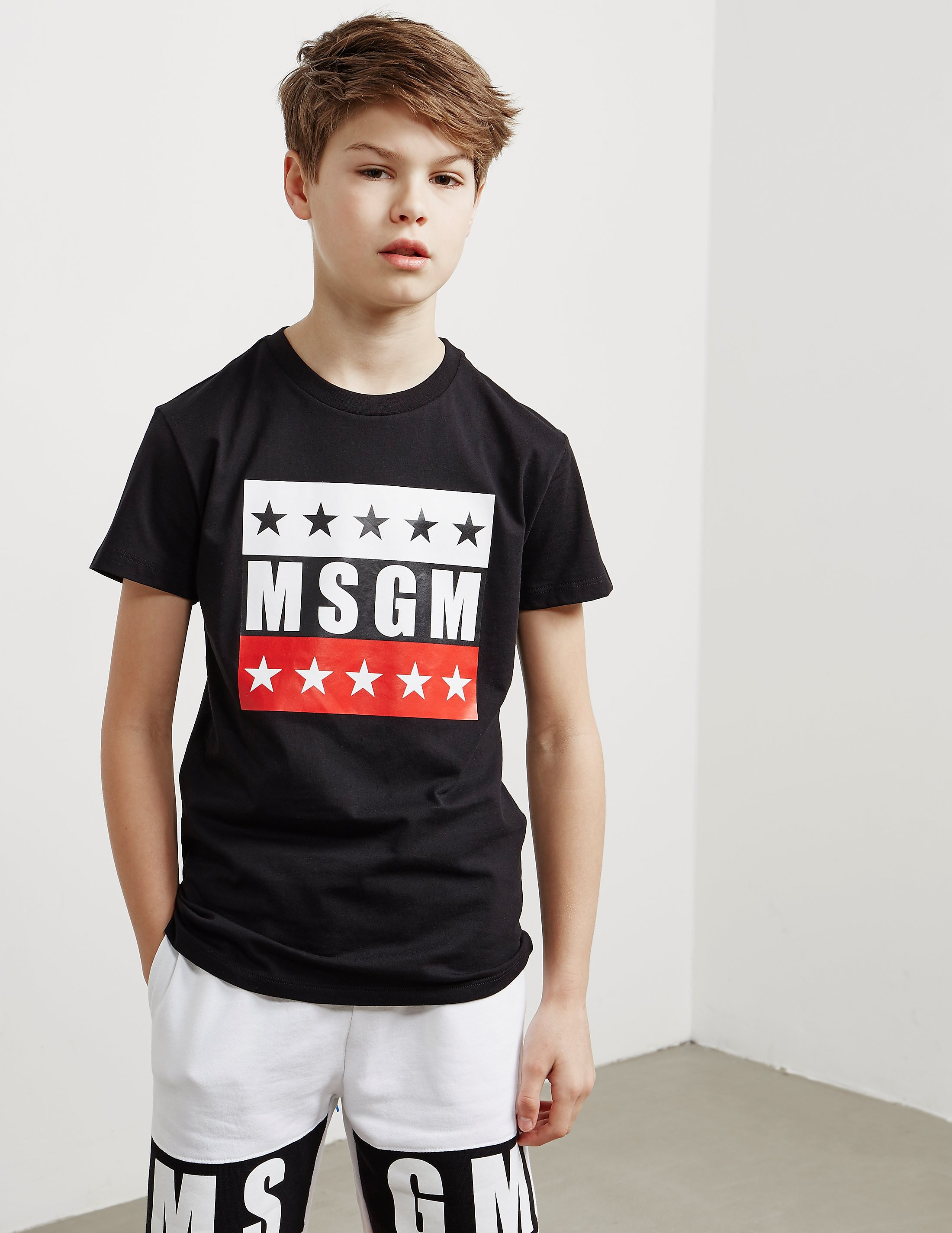 MSGM Logo Short Sleeve T-Shirt