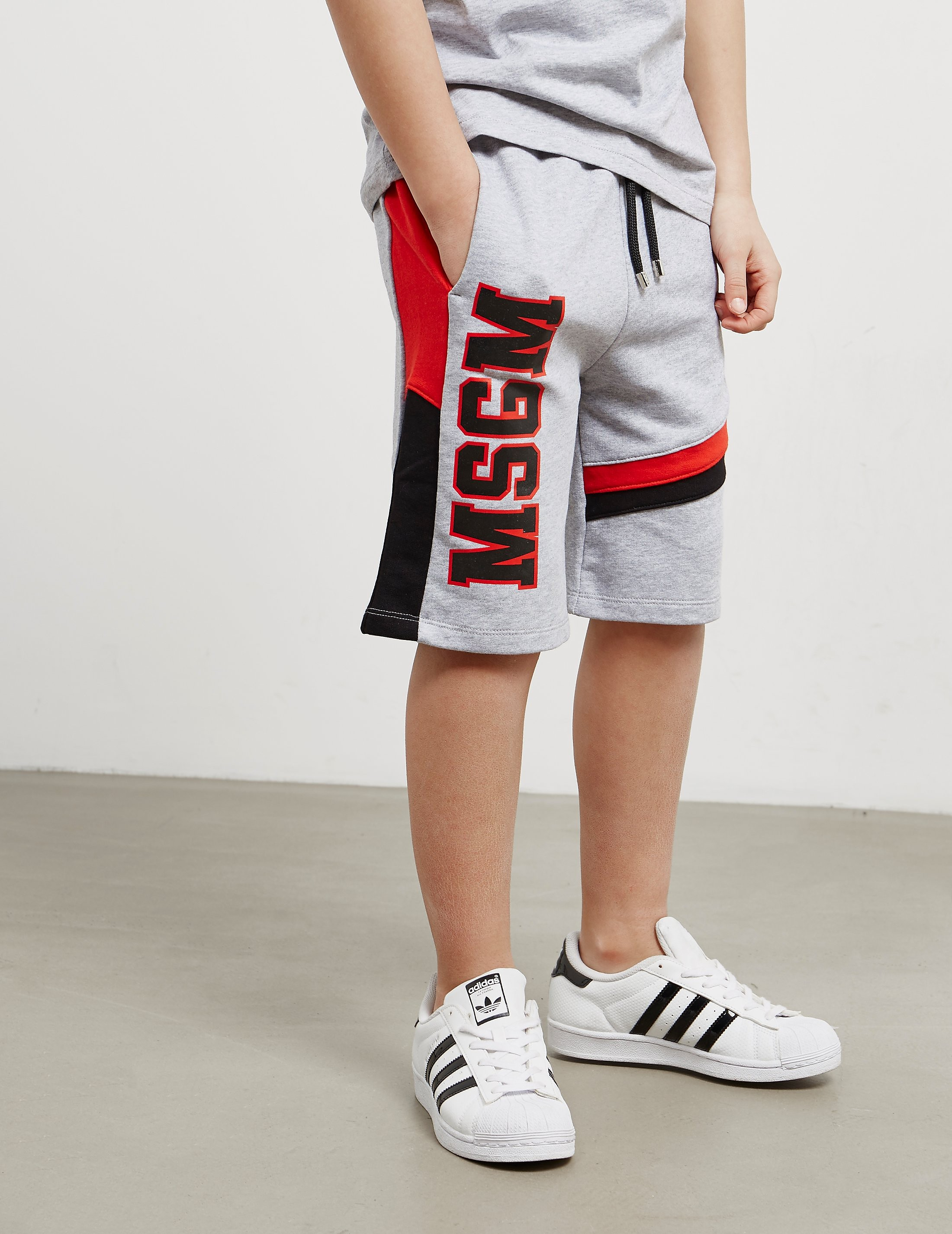 MSGM Large Logo Shorts