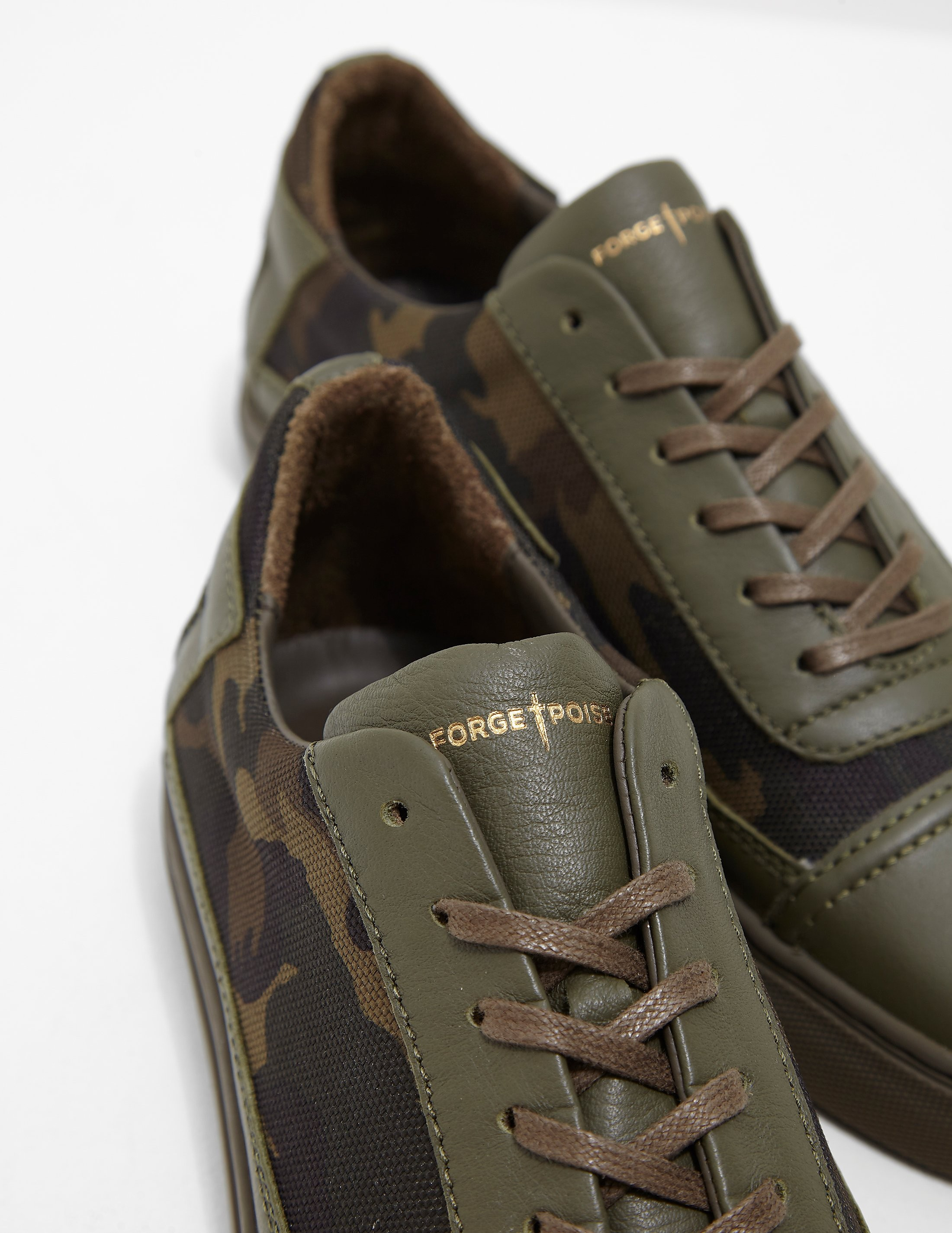 Forge Poise Excalibur Camo Trainers