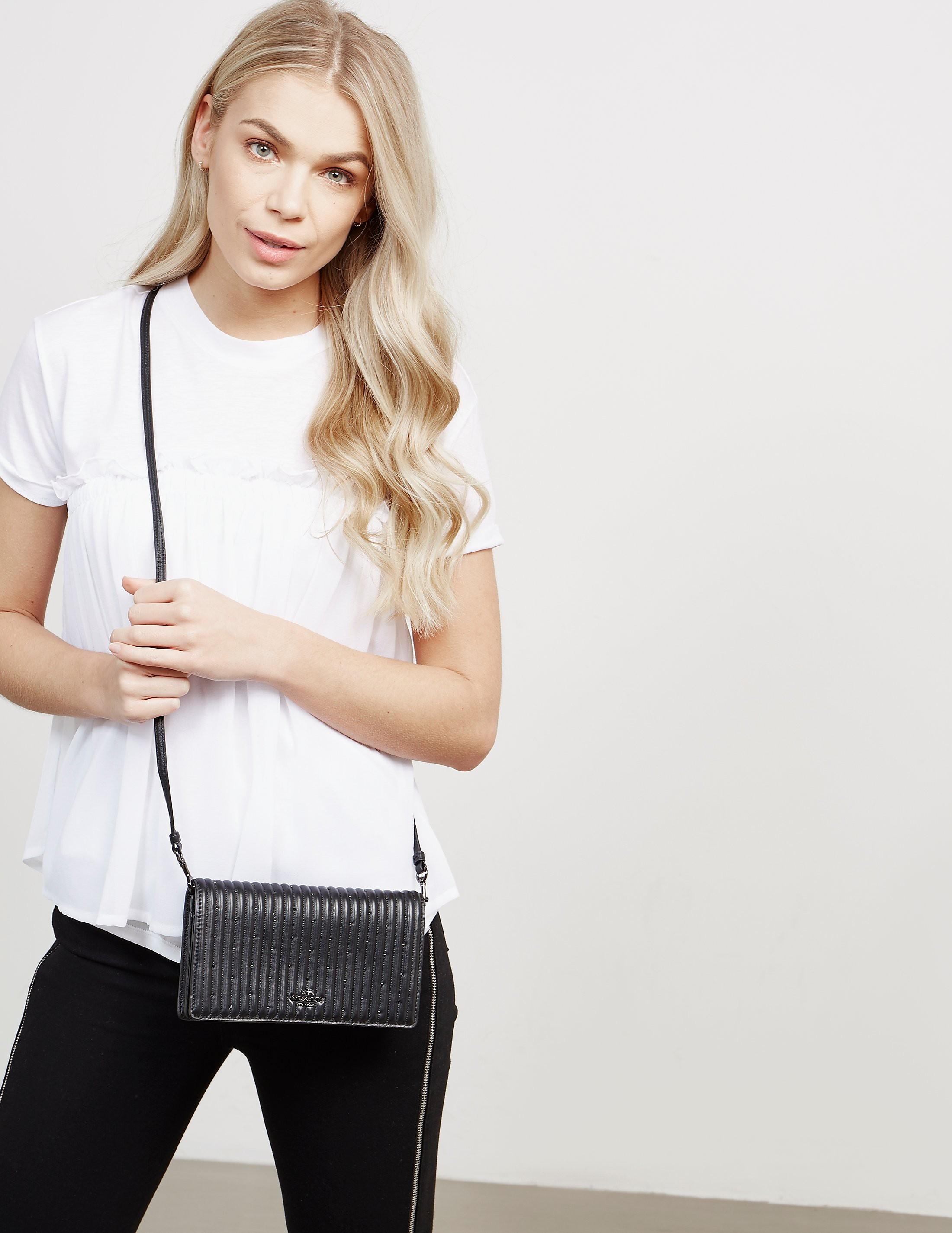 COACH Foldover Shoulder Bag