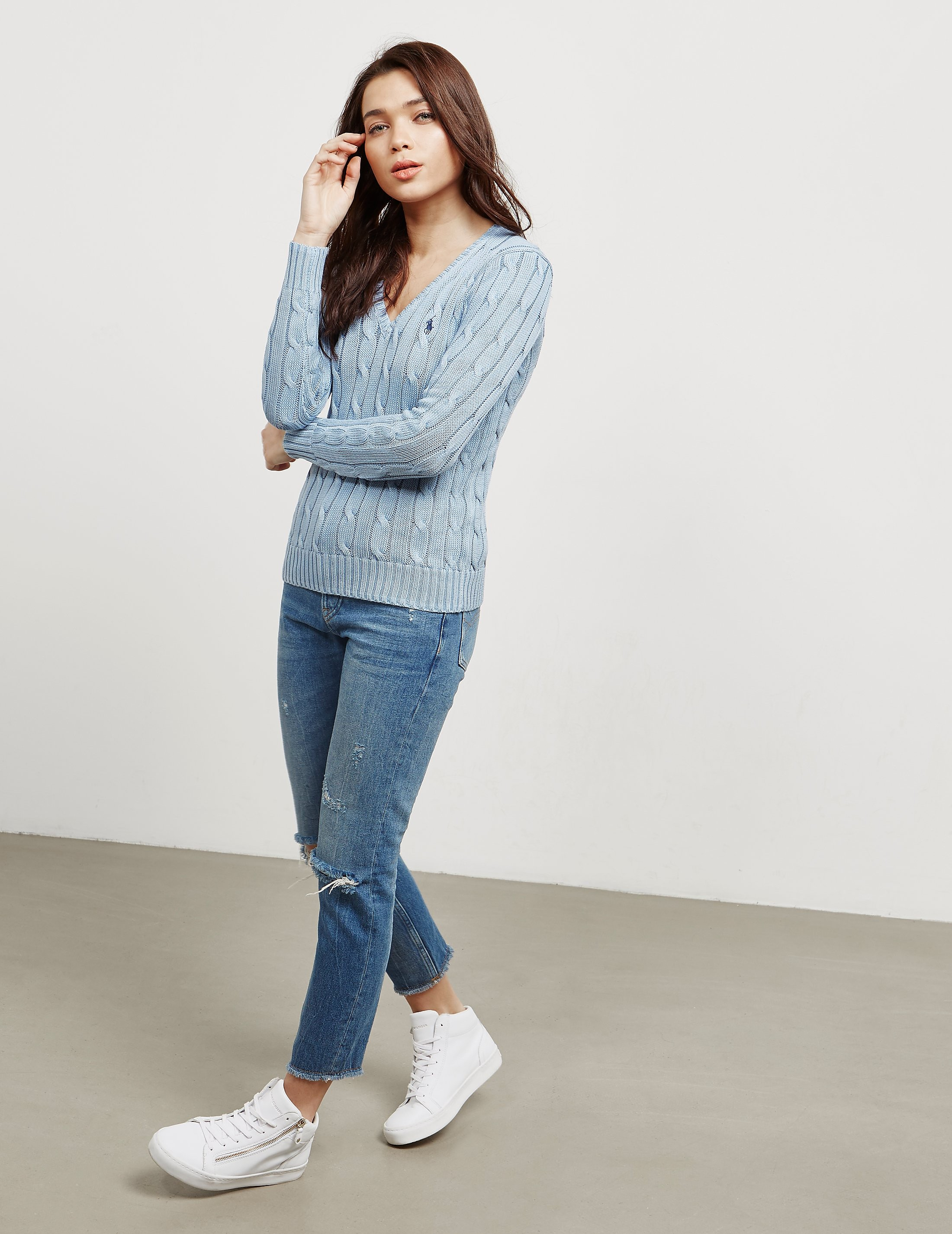Polo Ralph Lauren Cable Knitted Jumper