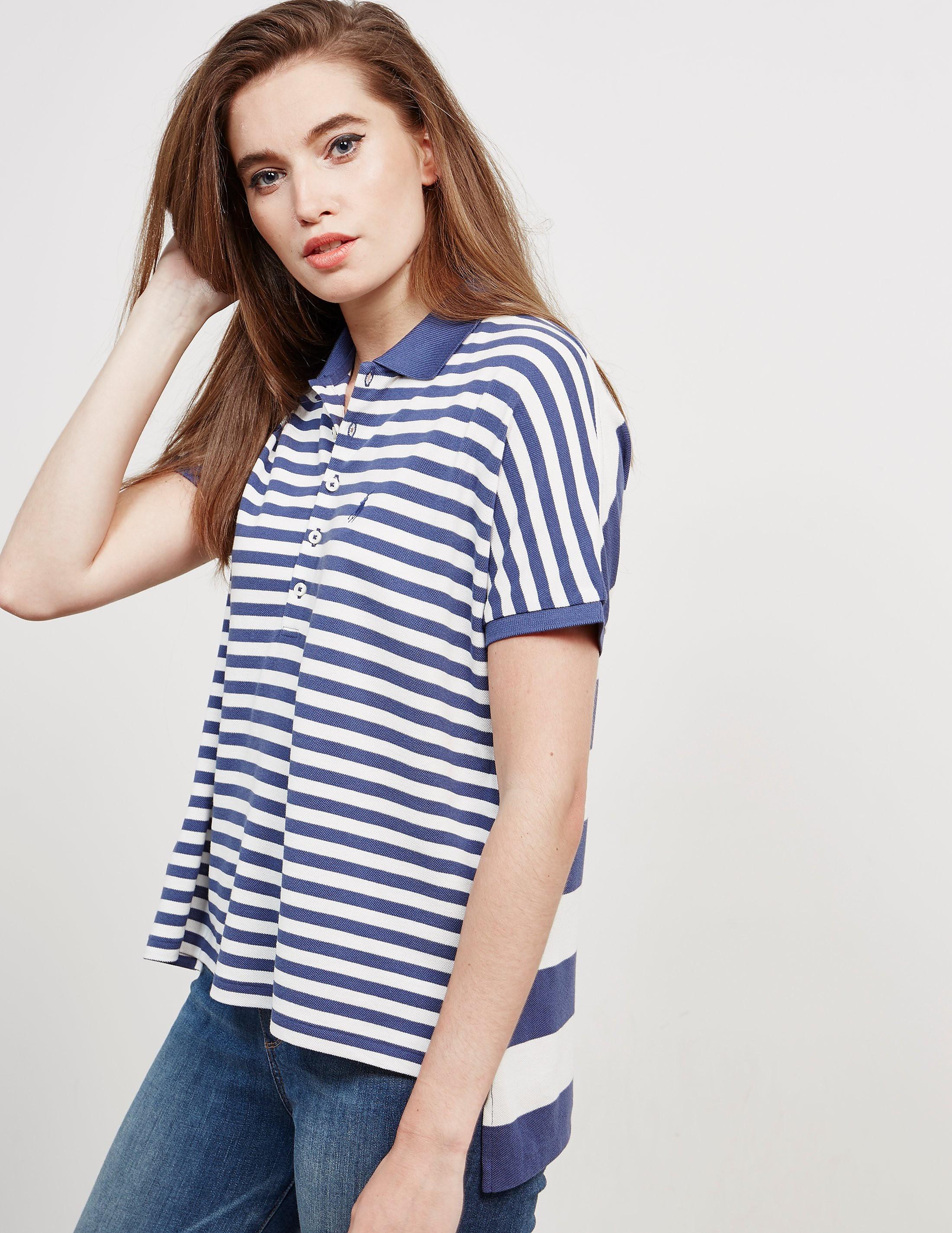 Polo Ralph Lauren Poncho Stripe Short Sleeve Polo Shirt