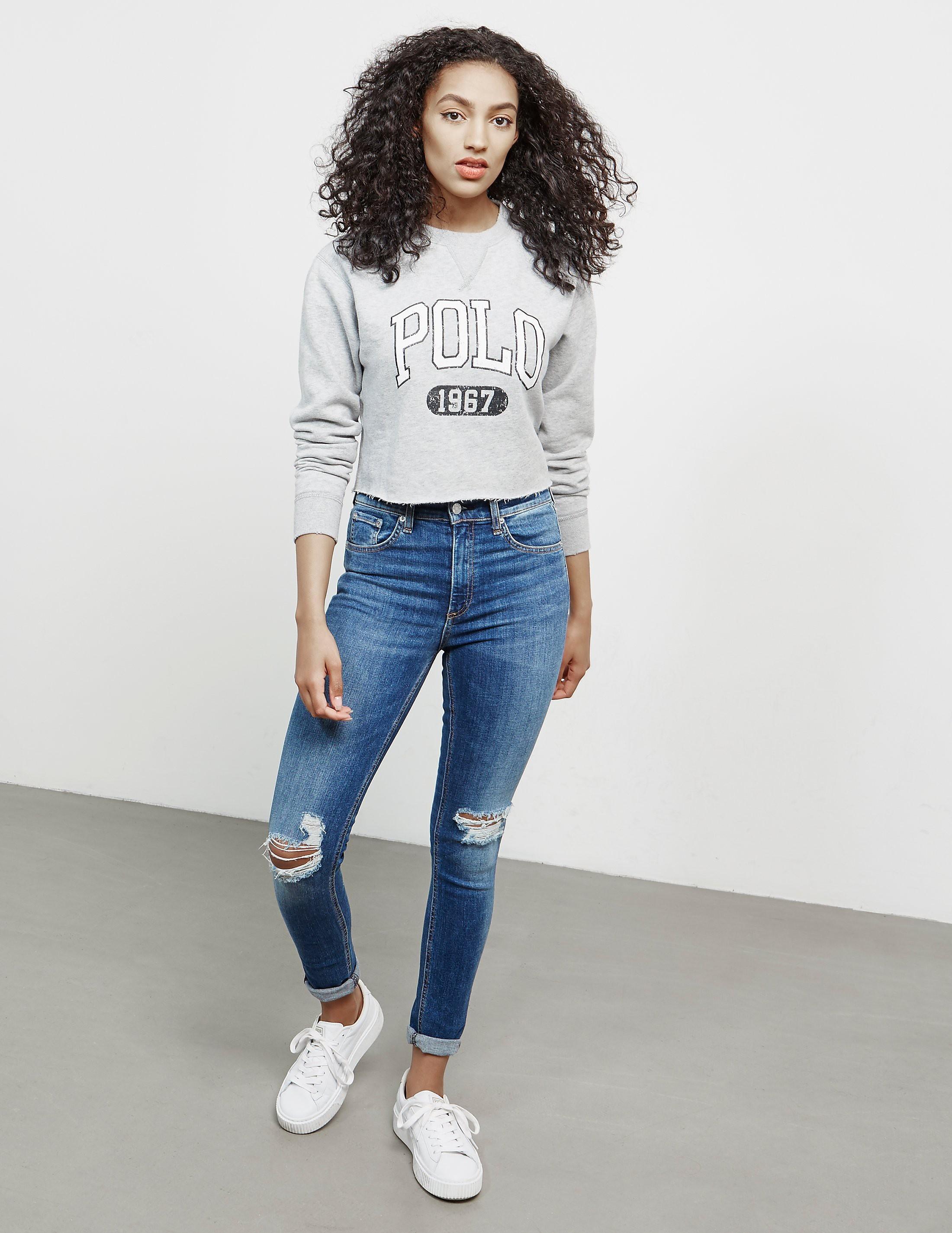 Polo Ralph Lauren Crop Sweatshirt