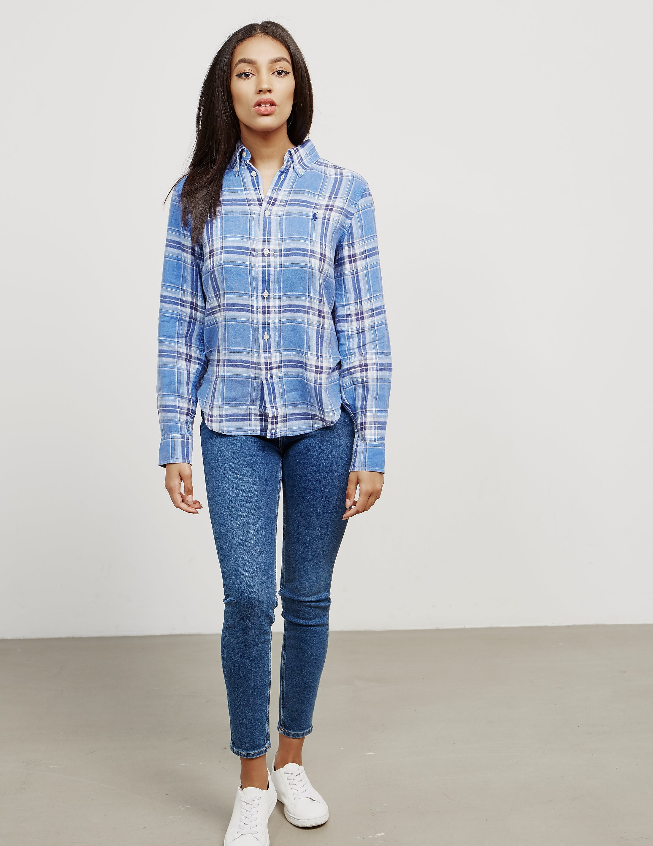 Polo Ralph Lauren Tommy Plaid Long Sleeve Shirt - Online Exclusive
