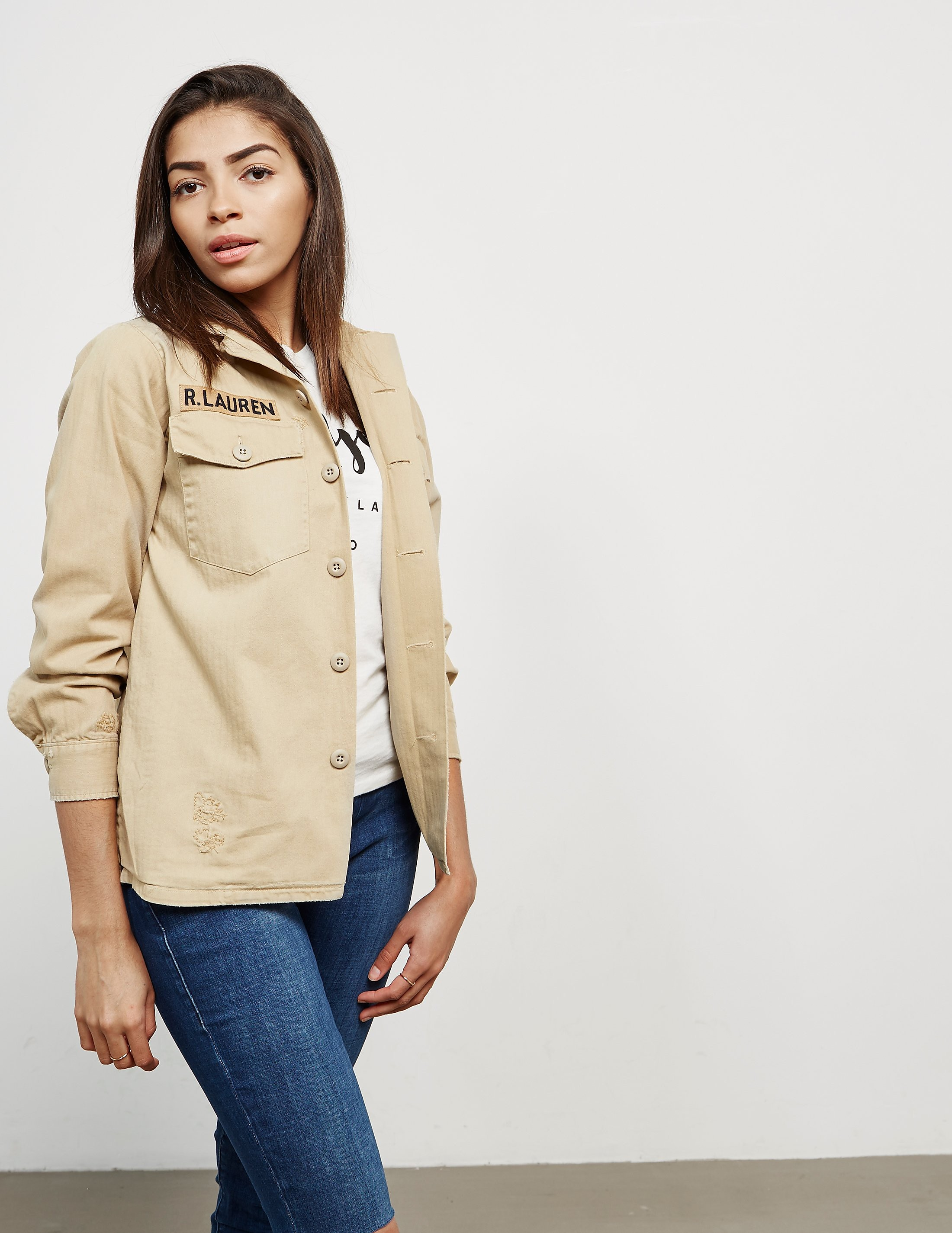 Polo Ralph Lauren Military Overshirt Jacket