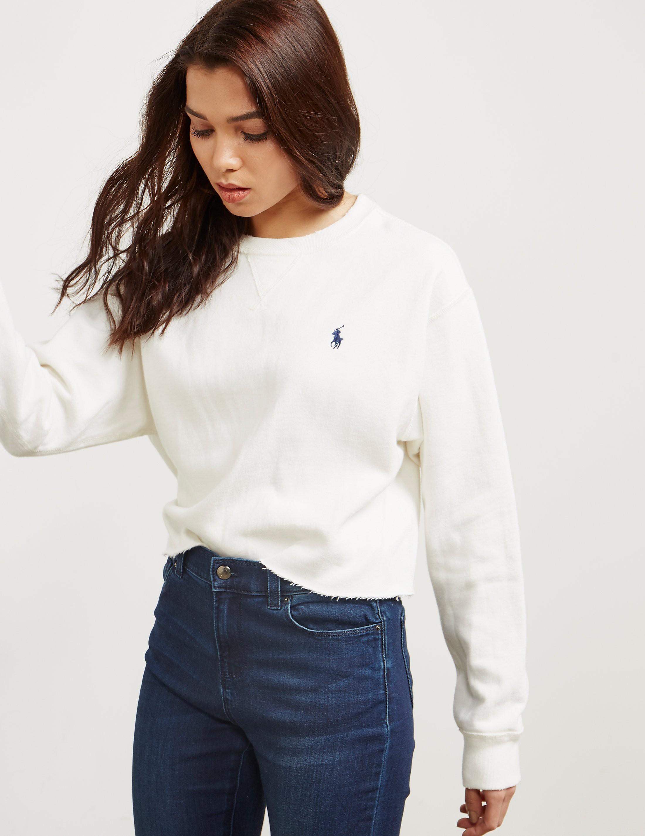 Polo Ralph Lauren Cropped Sweatshirt