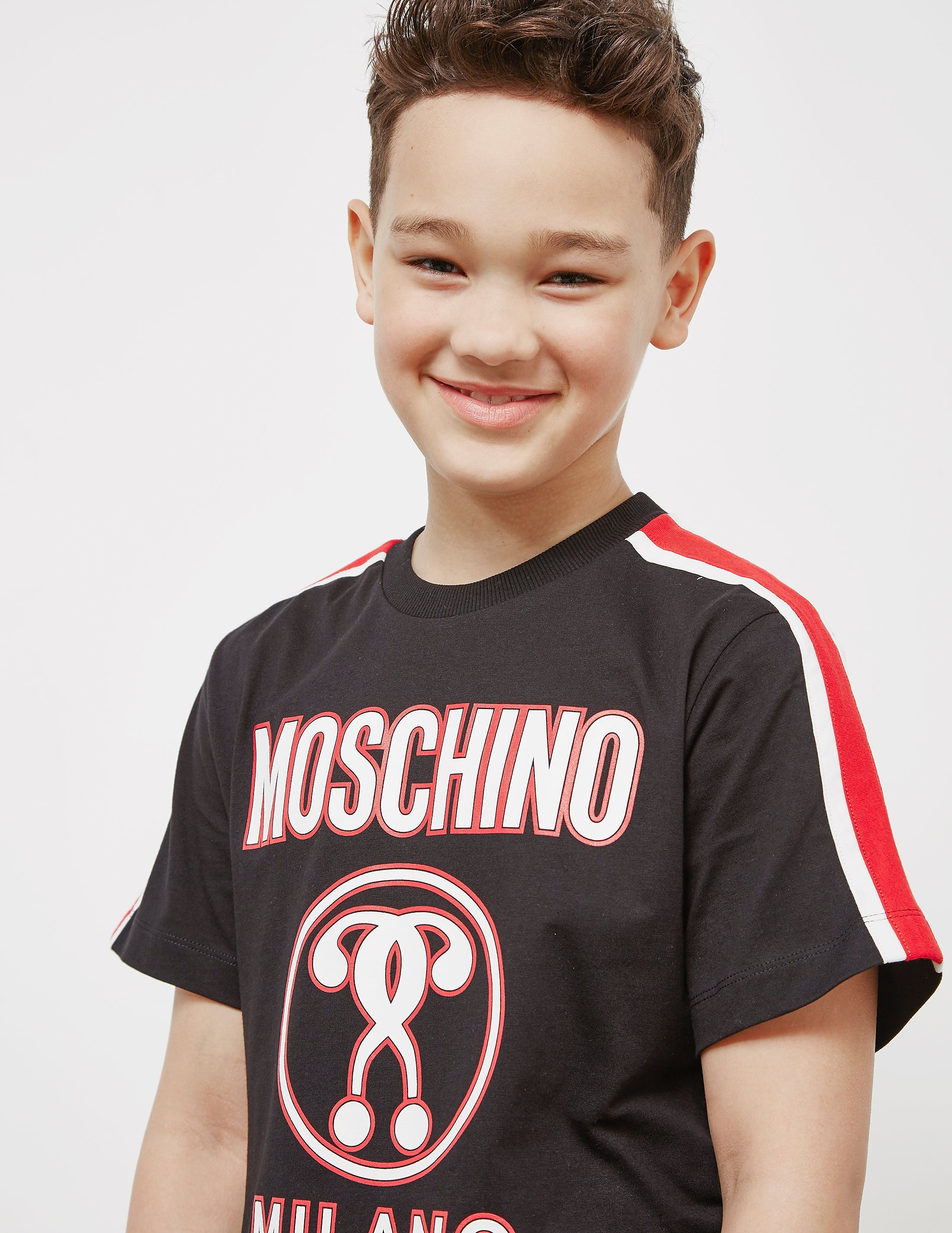 Moschino Tape Short Sleeve T-Shirt