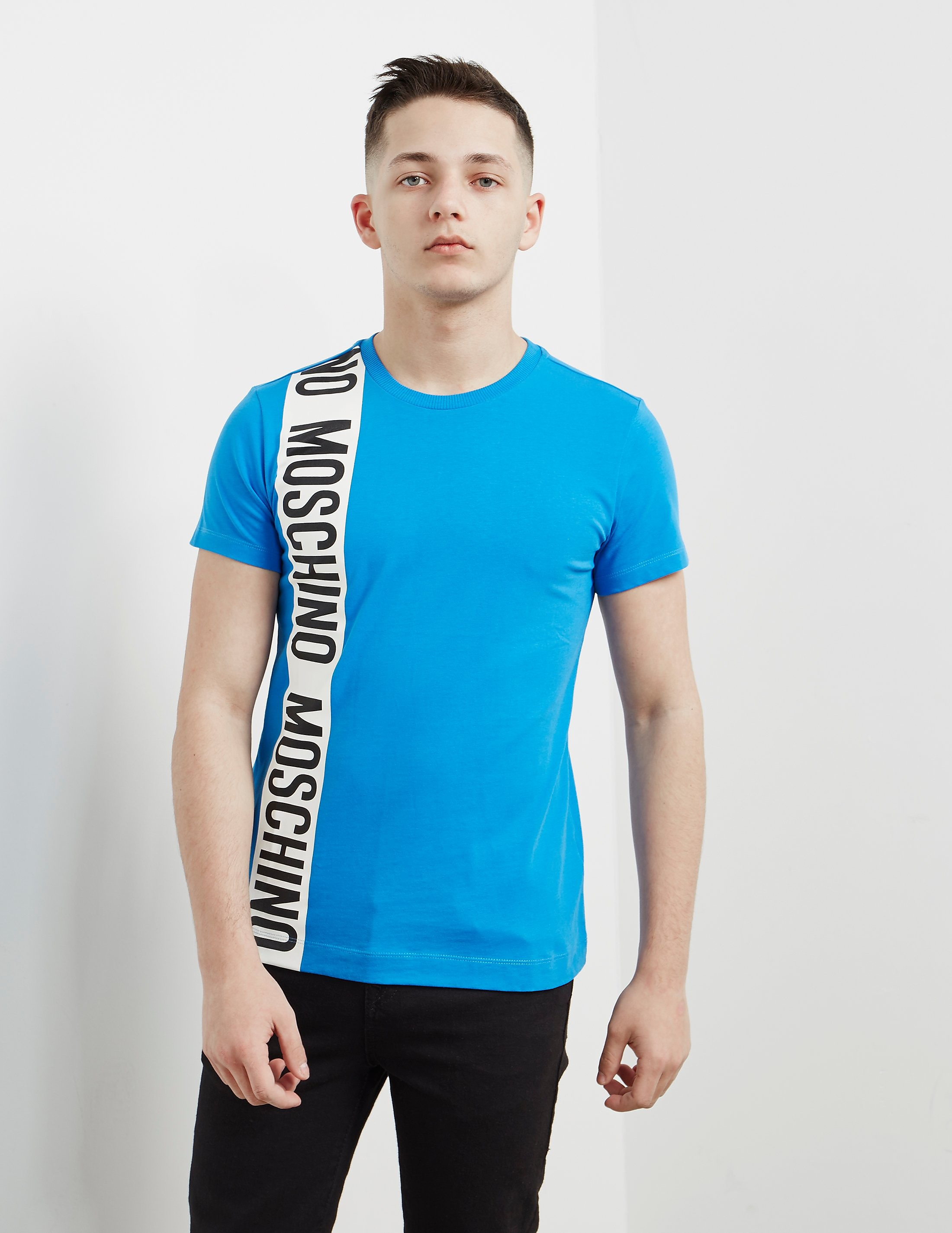 Moschino Stripe Short Sleeve T-Shirt