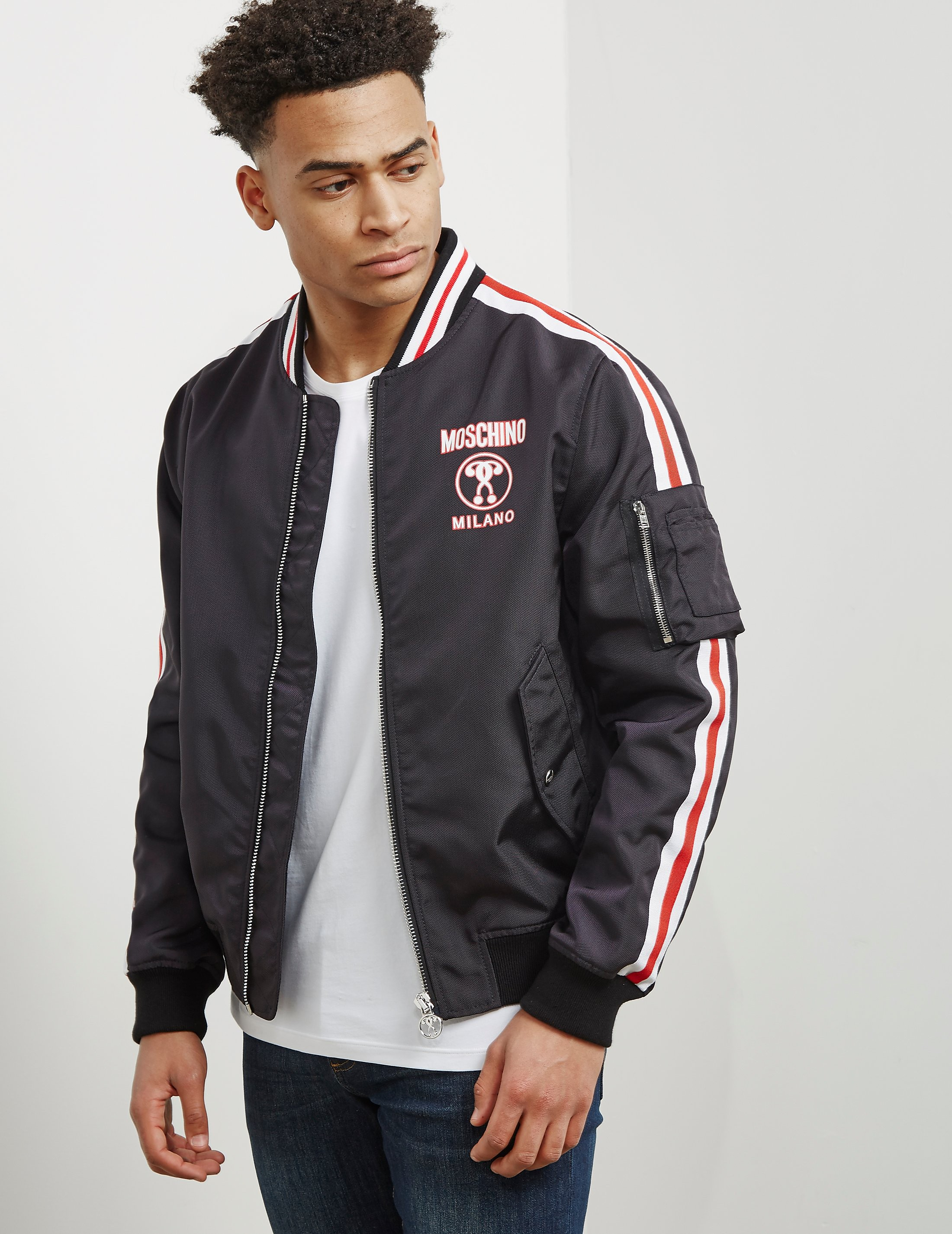 Moschino Milano Bomber Jacket - Online Exclusive