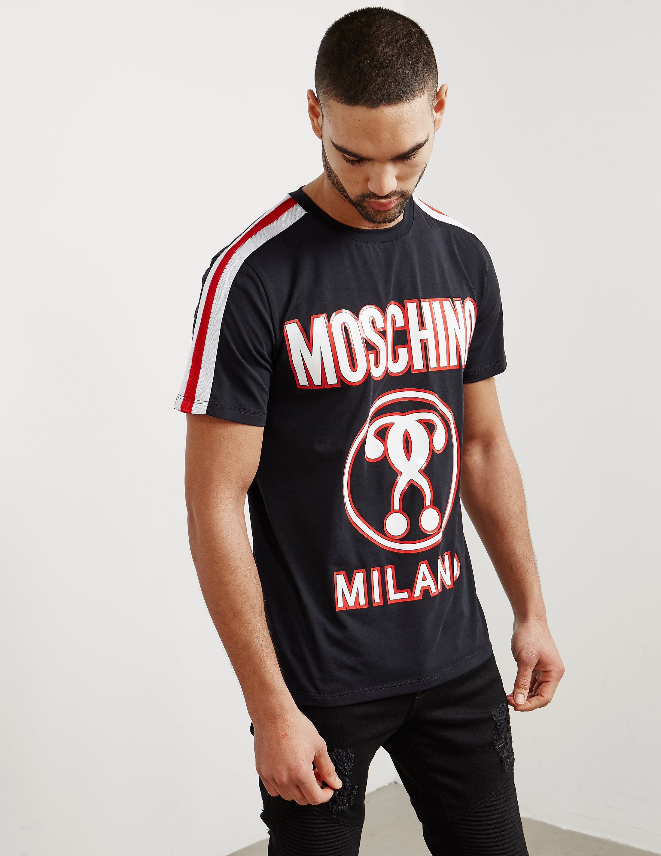 Moschino Milano Short Sleeve T-Shirt - Online Exclusive