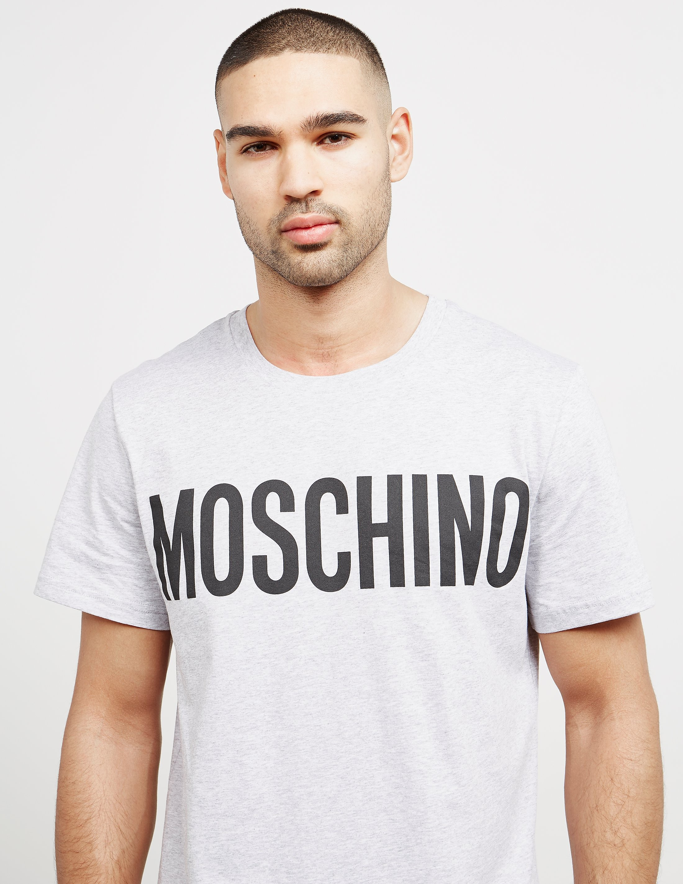 Moschino Milano Couture Logo Short Sleeve T-Shirt