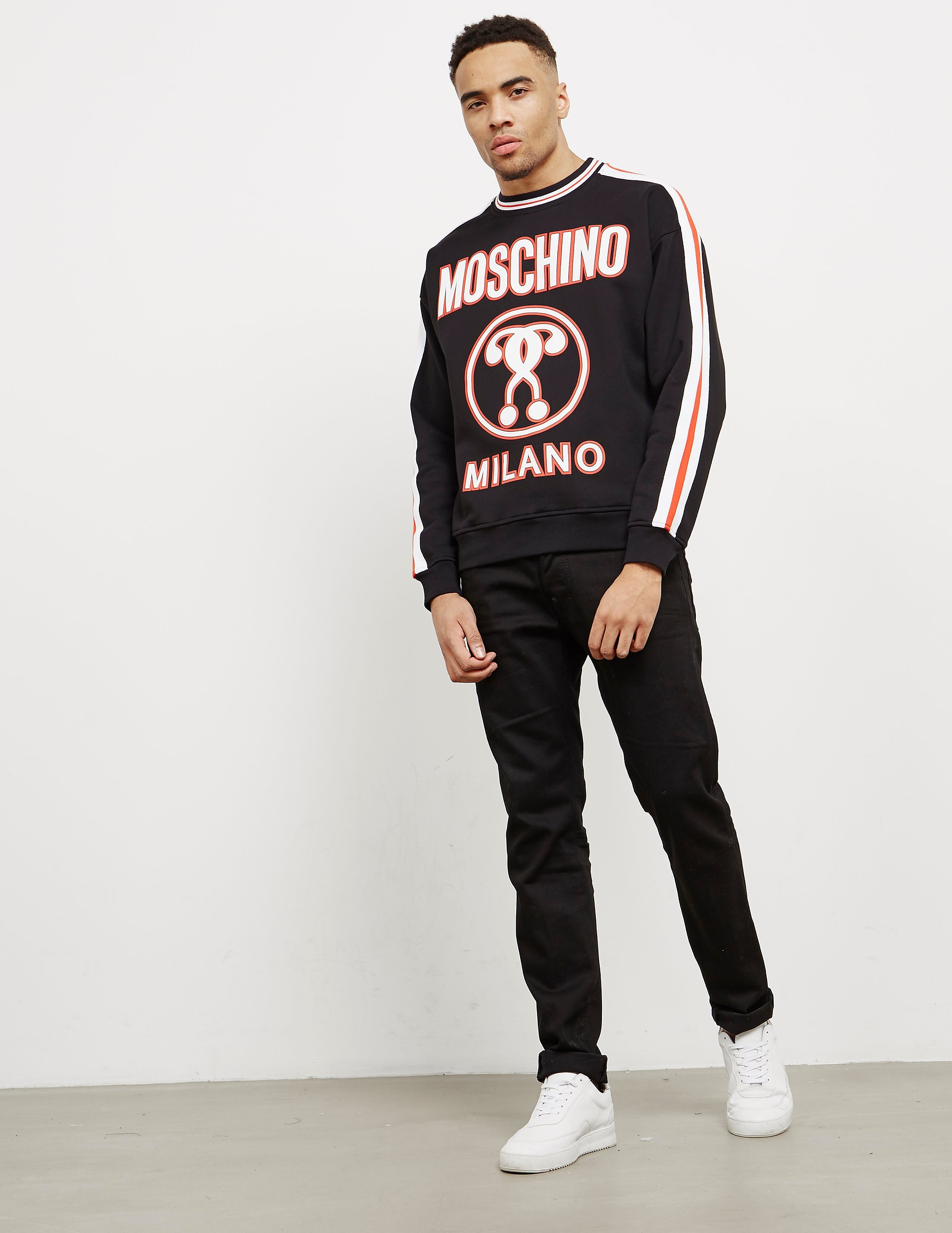 Moschino Milano Tape Sweatshirt - Online Exclusive