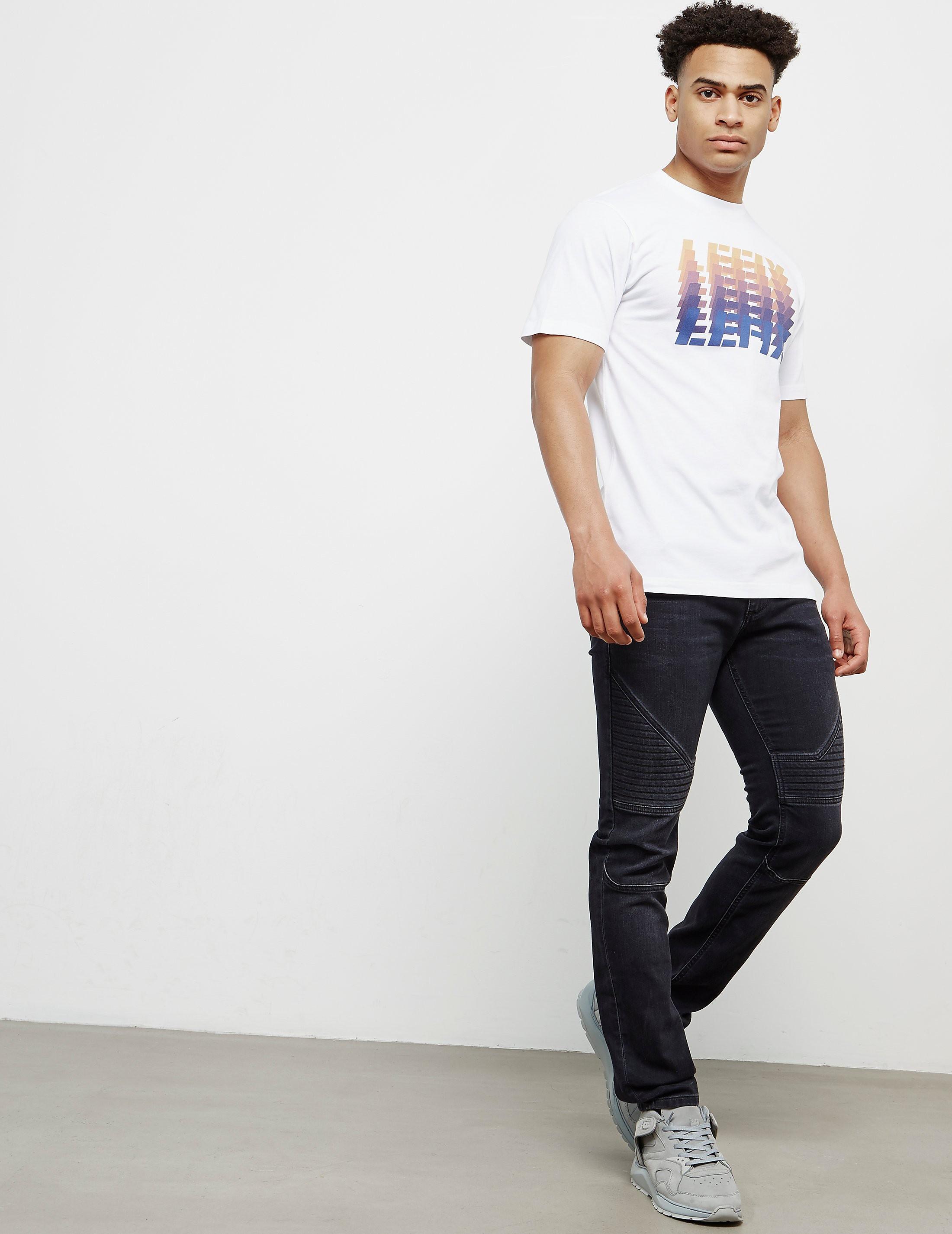 Le Fix Multi Logo Short Sleeve T-Shirt