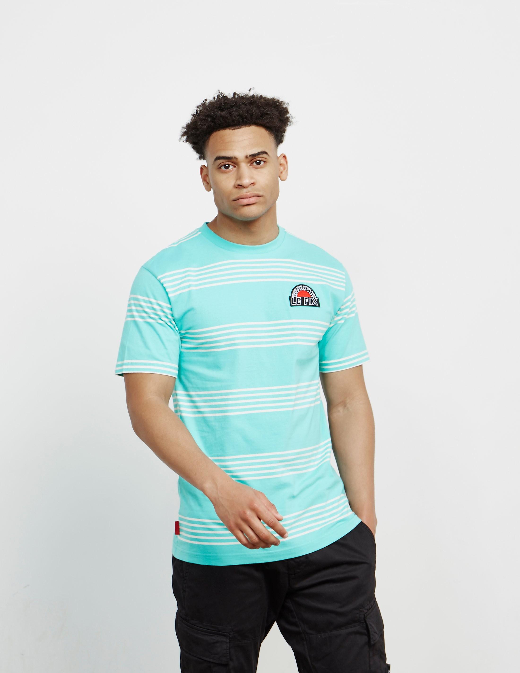 Le Fix Stripe Short Sleeve T-Shirt