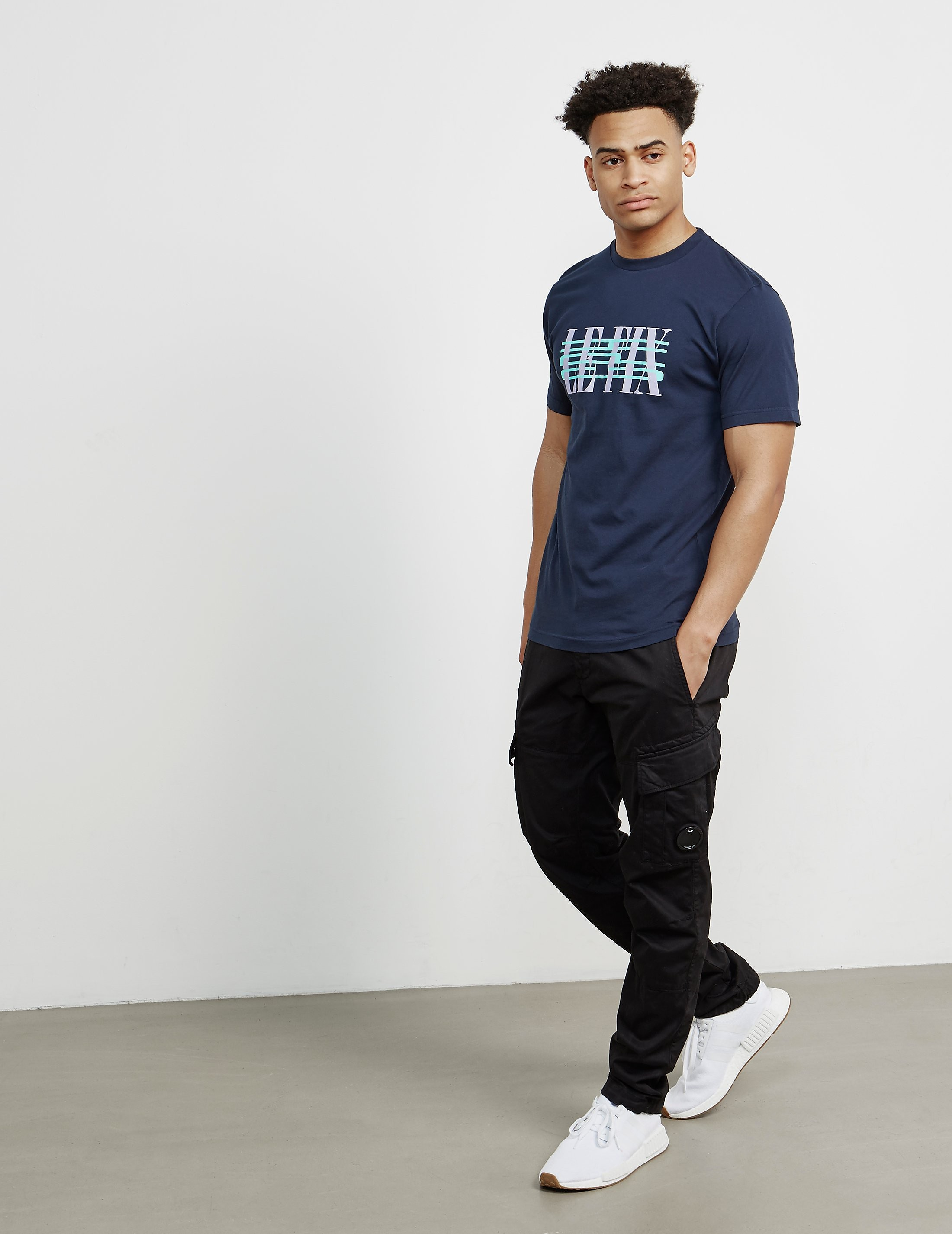 Le Fix Cross Out Logo Short Sleeve T-Shirt